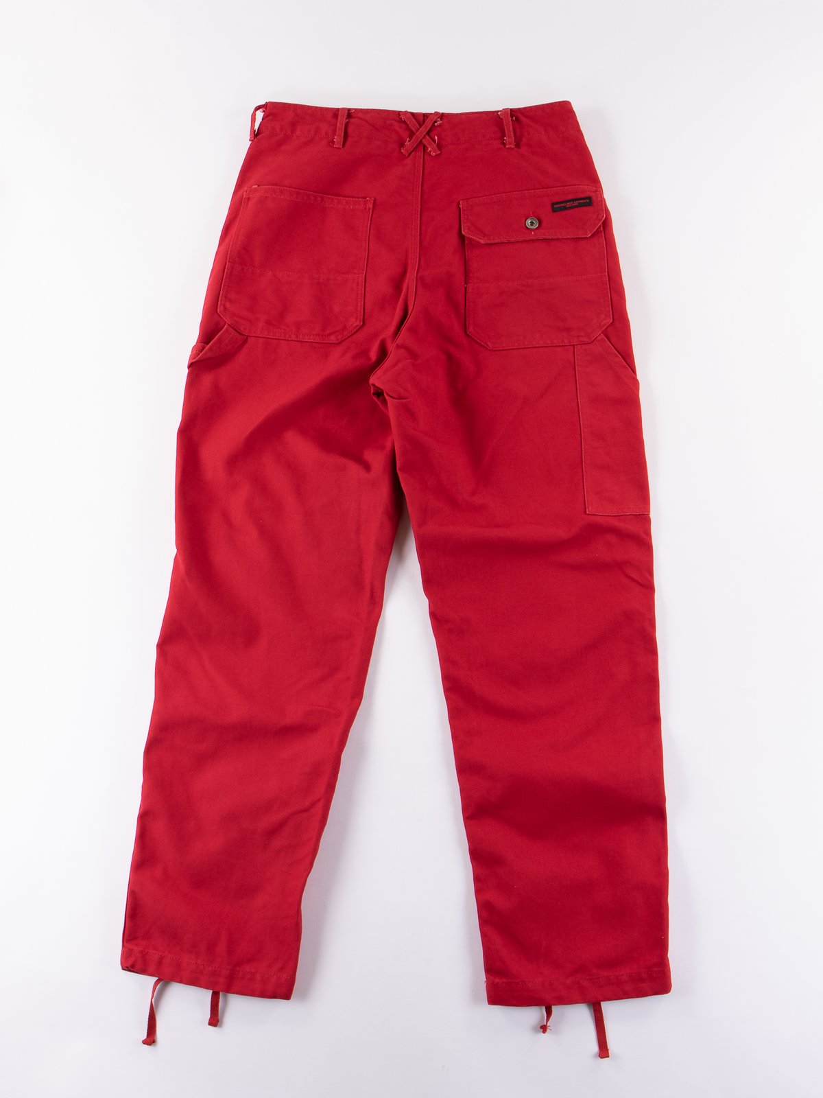 Red 12oz Duck Canvas Logger Pant - Image 6