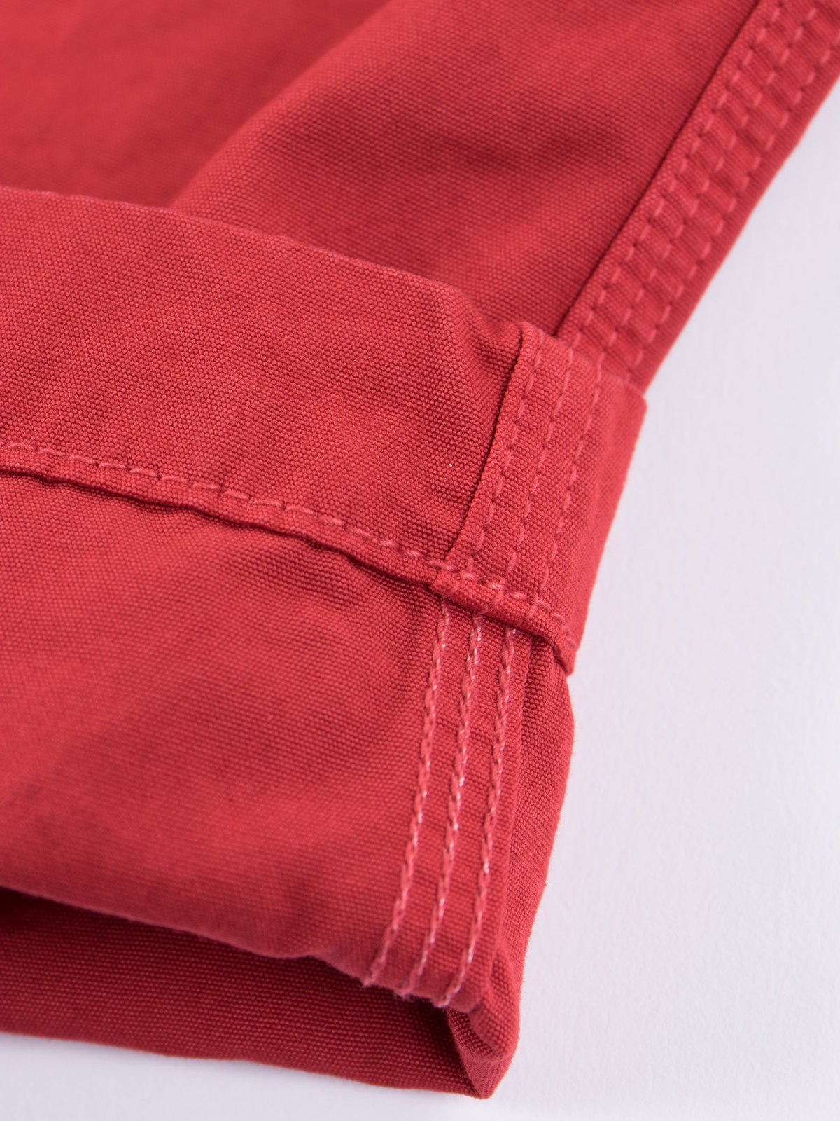 Red Overdyed Poplin Climbing Pant - Image 3