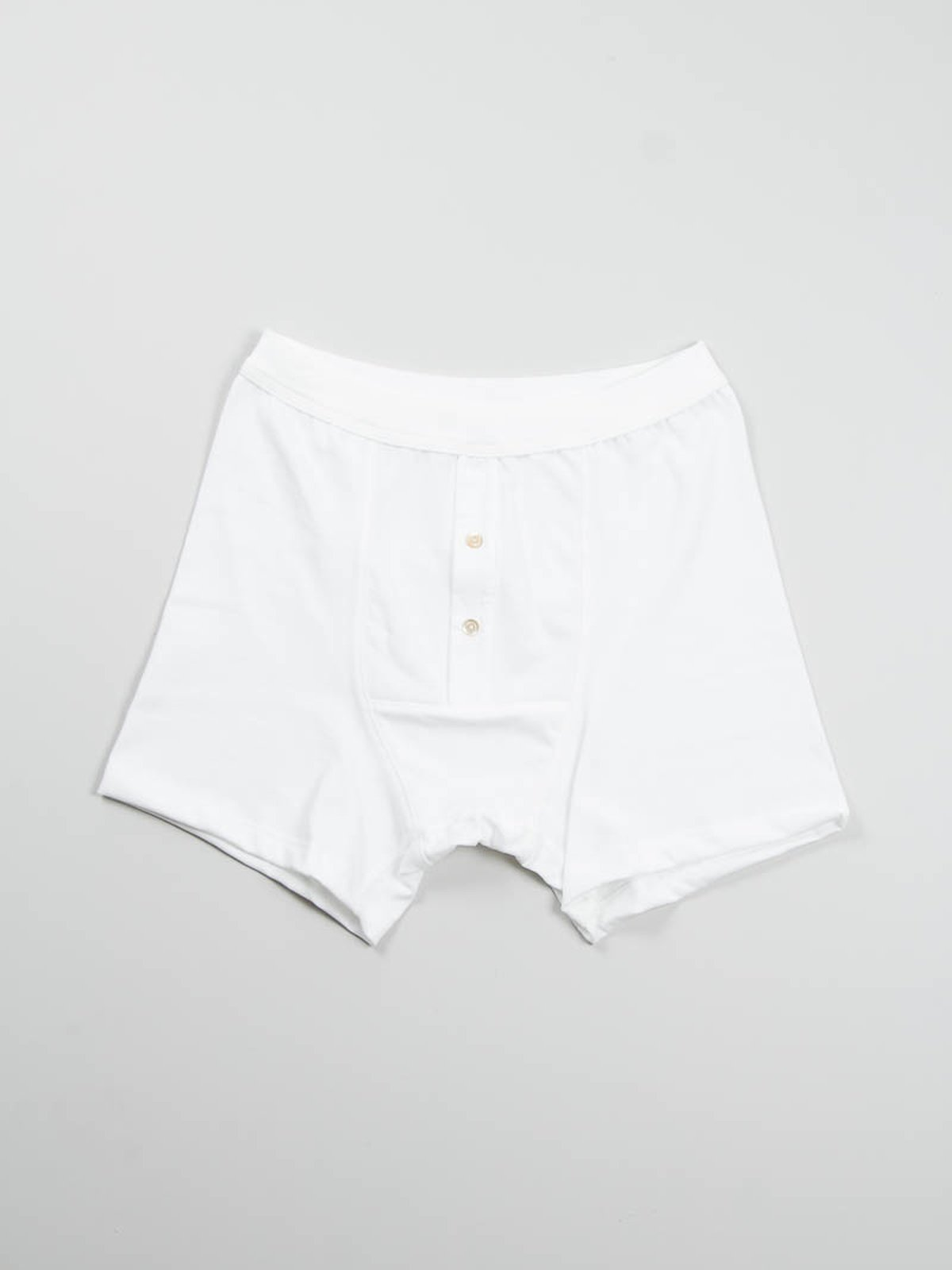 White 255 Button Facing Underpant - Image 1