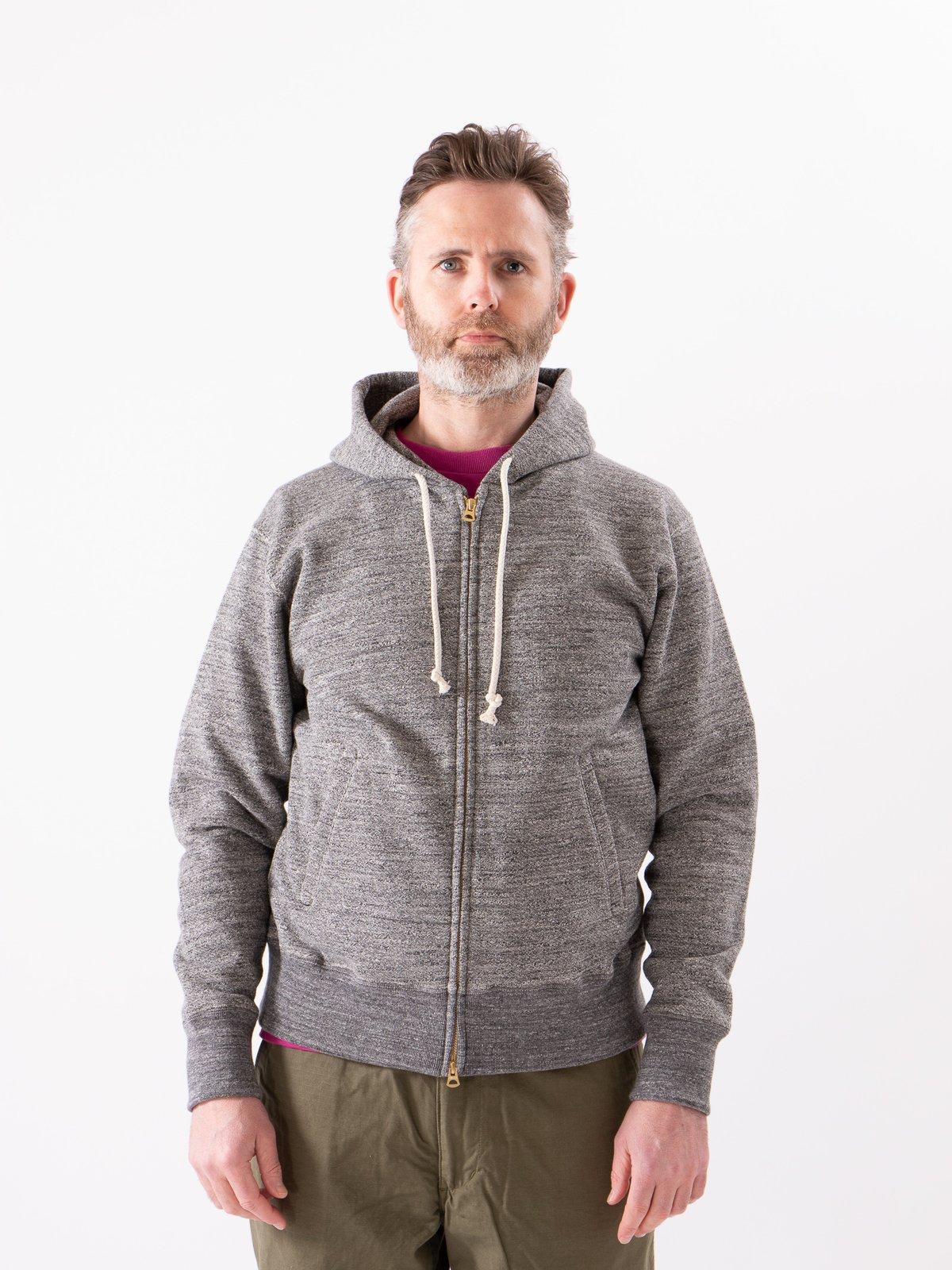 Charcoal GG Full Zip Sweatshirt - Image 2