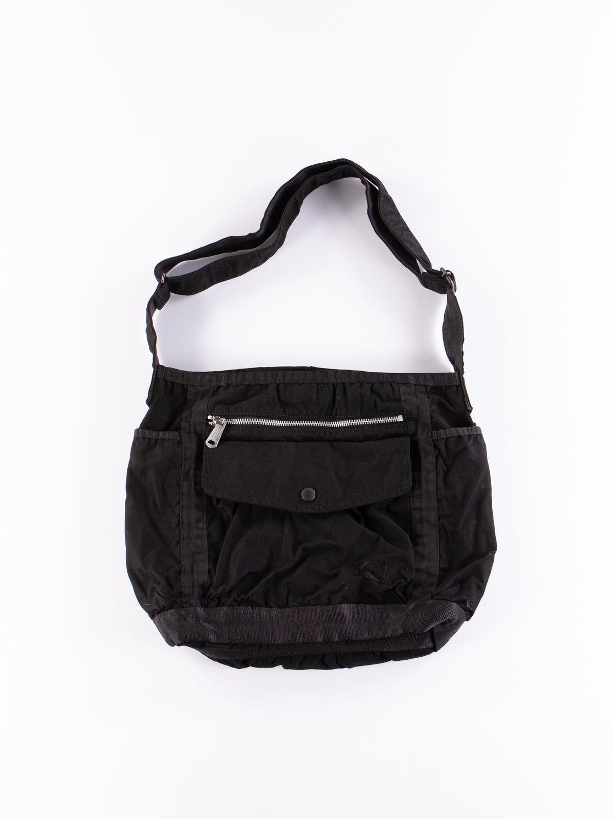 Black Crag Shoulder Bag Large - Image 1