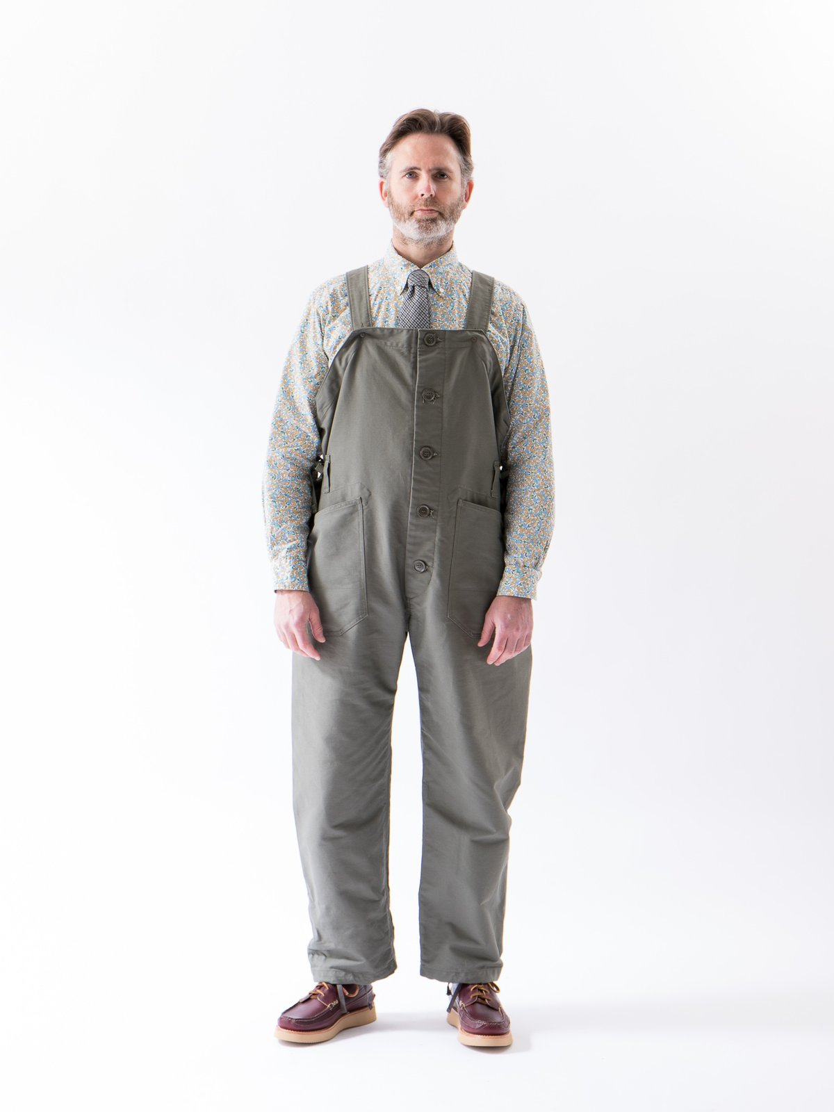 Olive Cotton Double Cloth Waders - Image 2