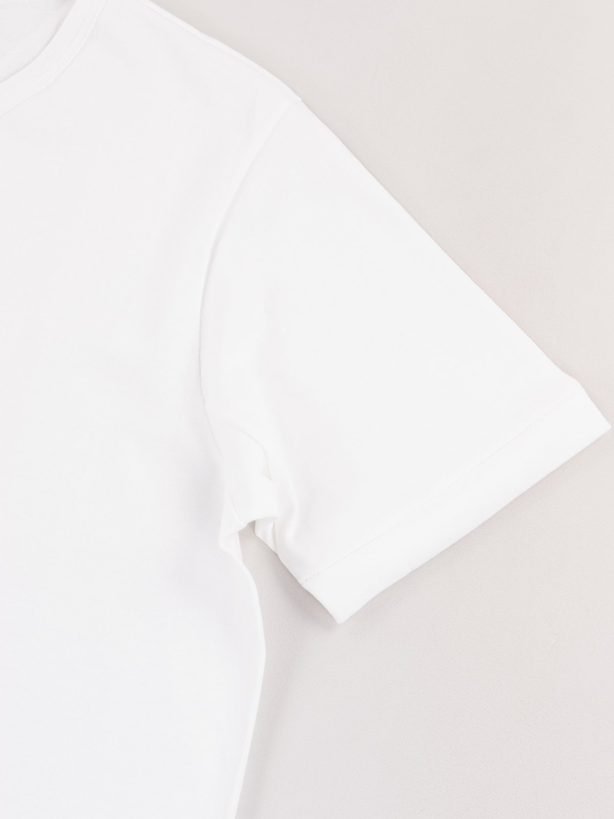 White 215 Organic Cotton Army Shirt - Image 3