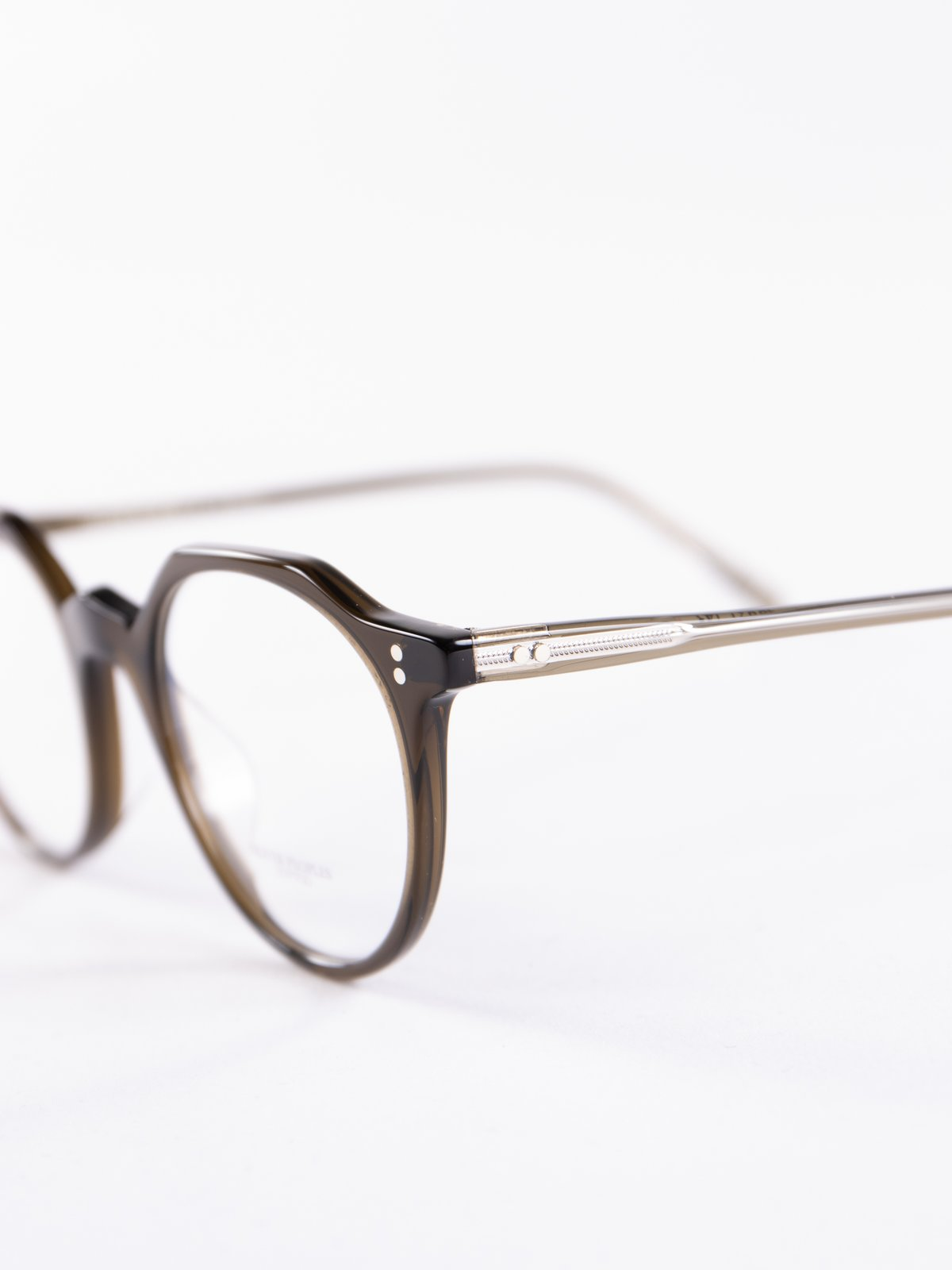Dark Military Op L 30th Optical Frame By Oliver Peoples
