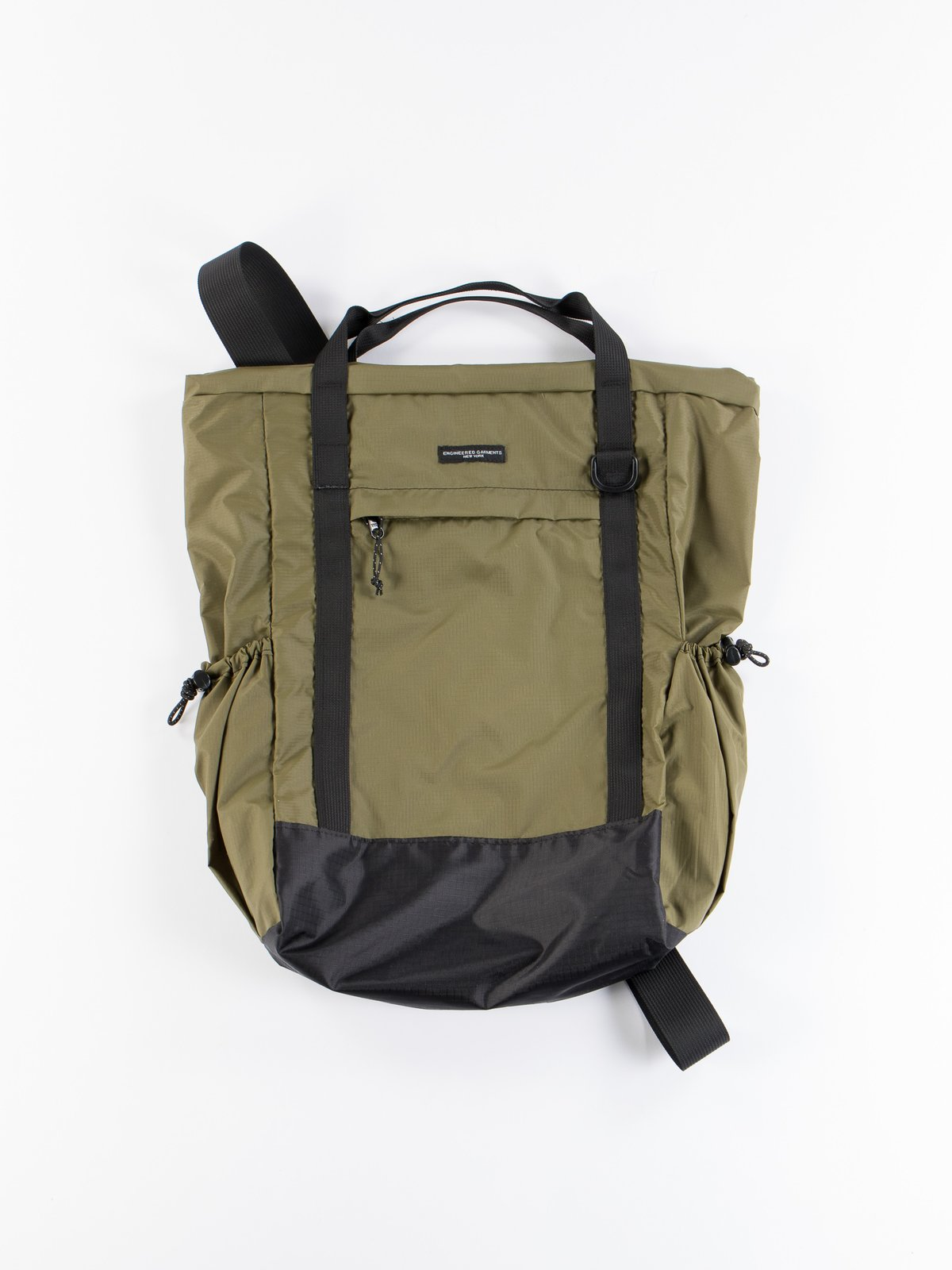 Olive Nylon Ripstop UL 3 Way Bag - Image 1