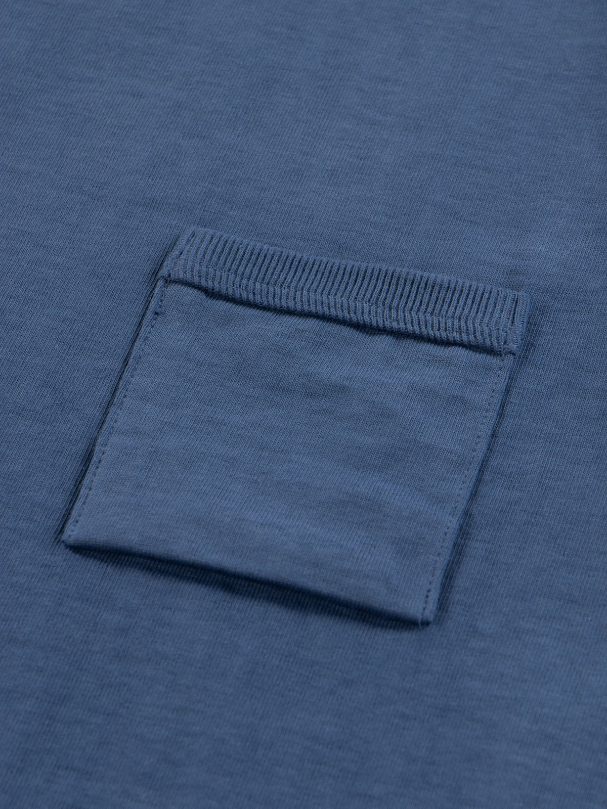 Ash Blue Dotsume Pocket T–Shirt - Image 5