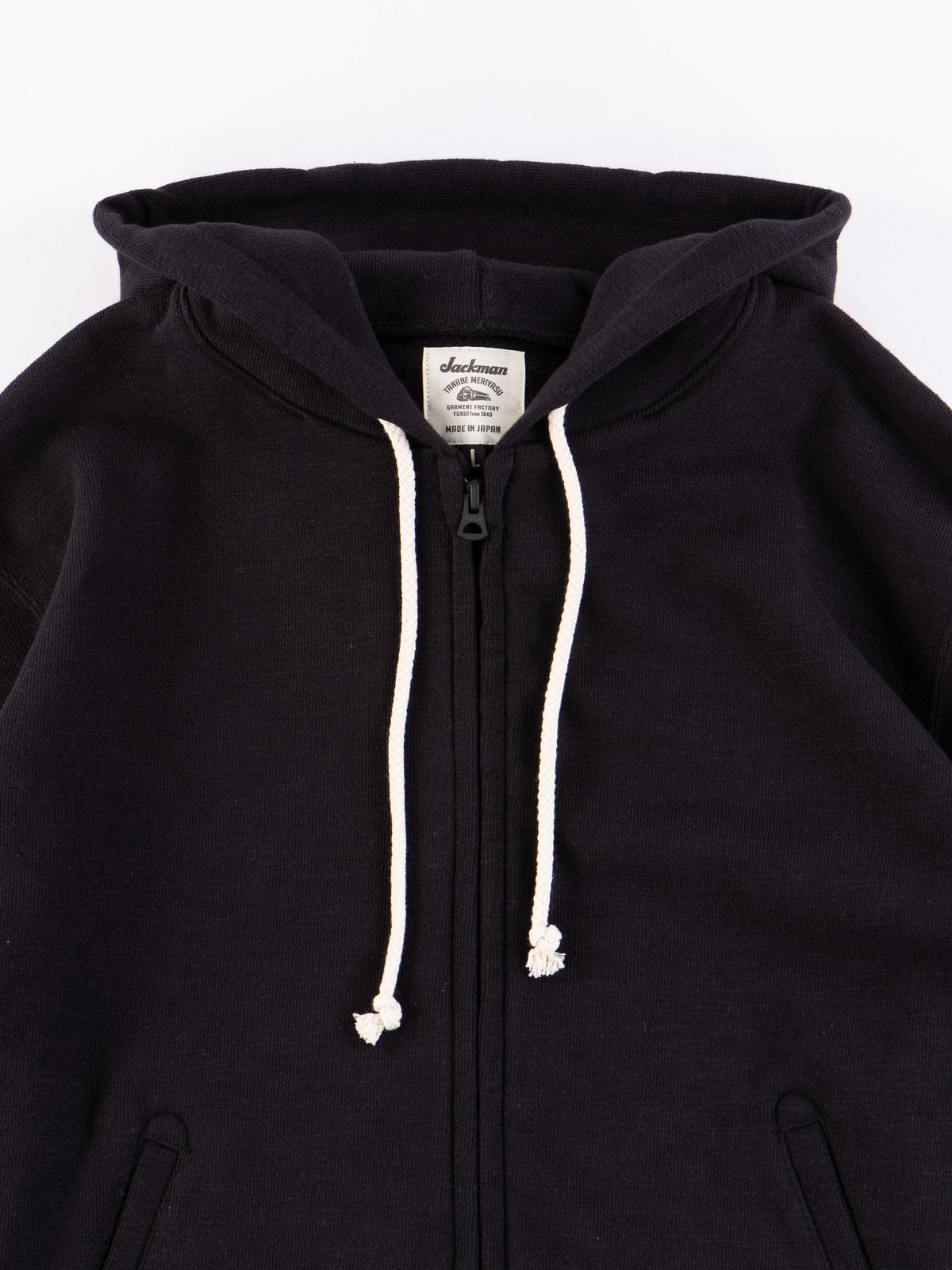 Black GG Full Zip Sweatshirt - Image 3