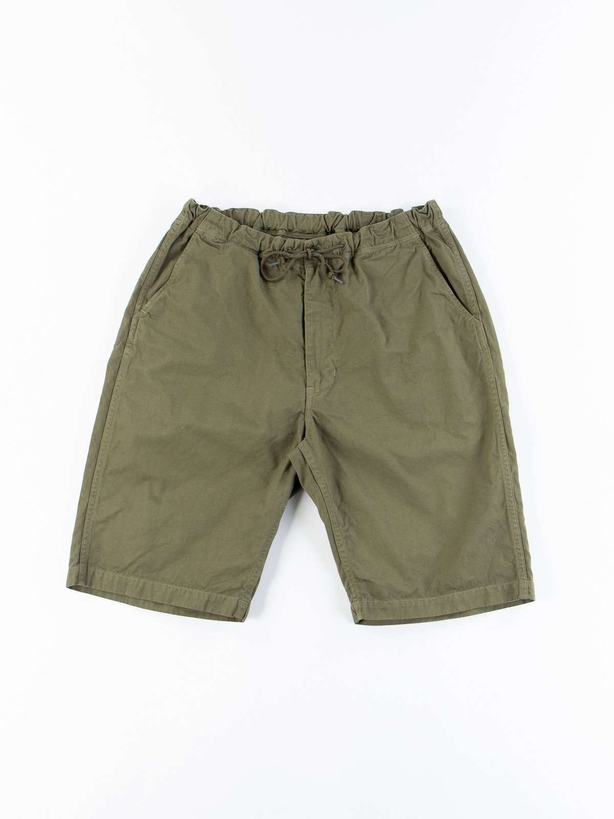 Army Overdyed Poplin TBB Mill Short - Image 1