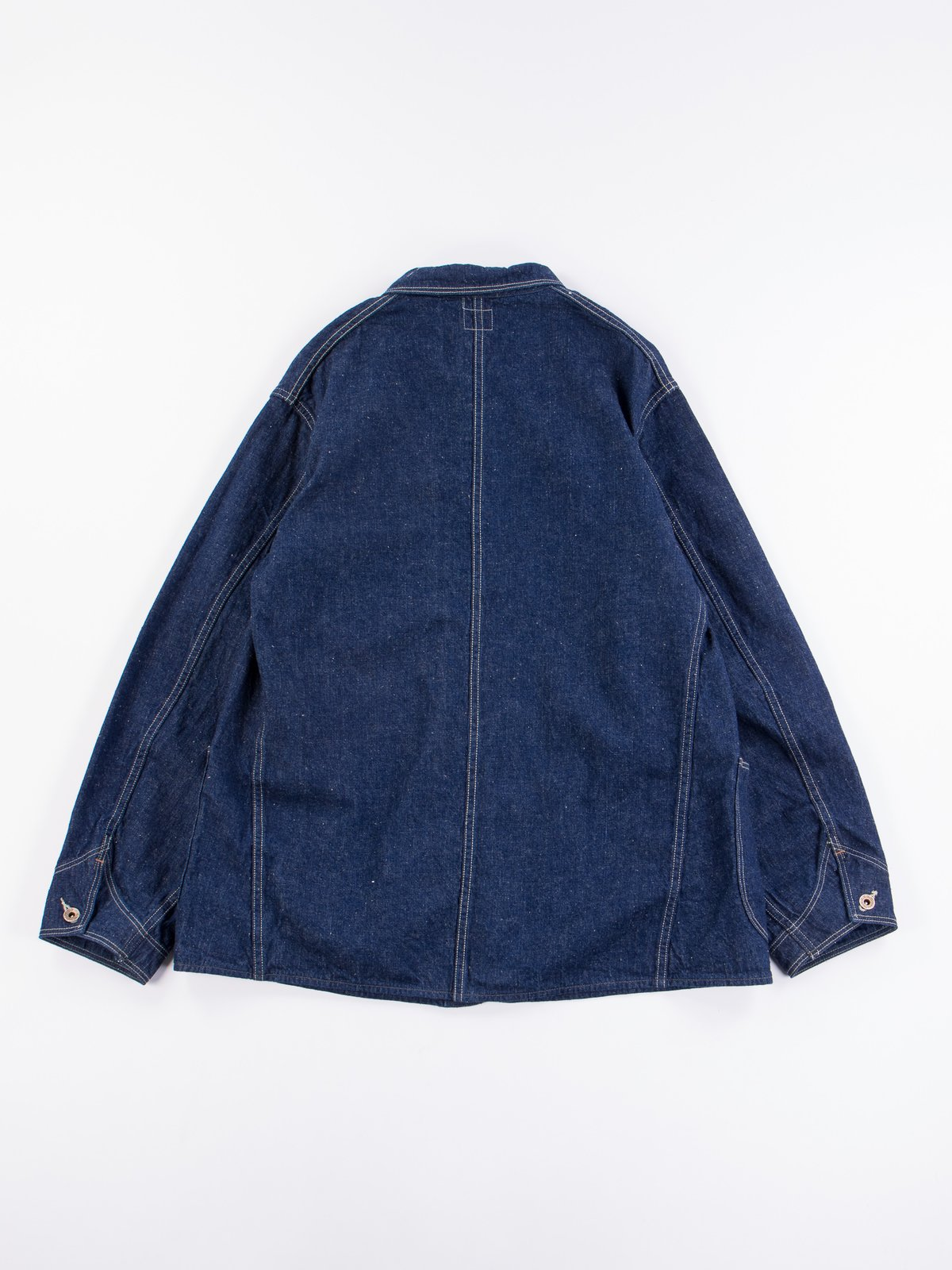 One Wash Denim 40's Coverall - Image 7