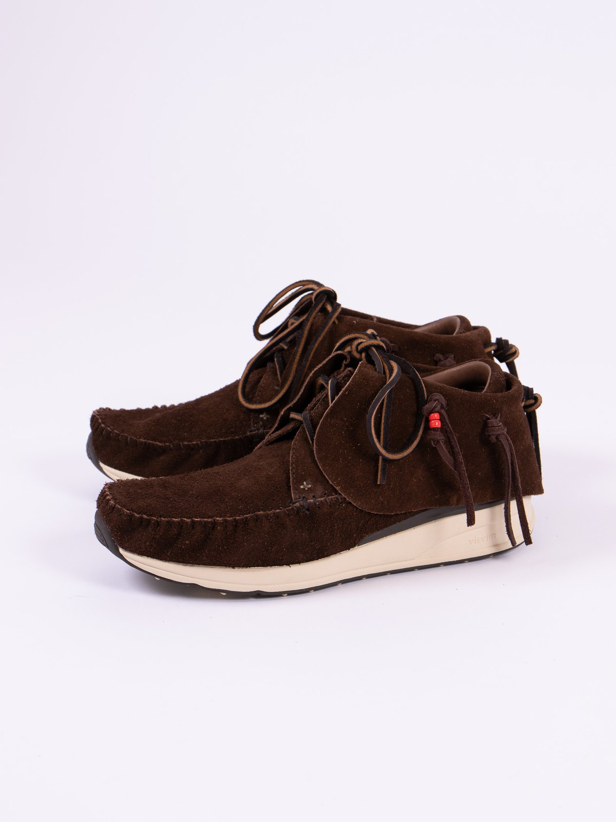Dark Brown Veg Suede FBT - Image 2