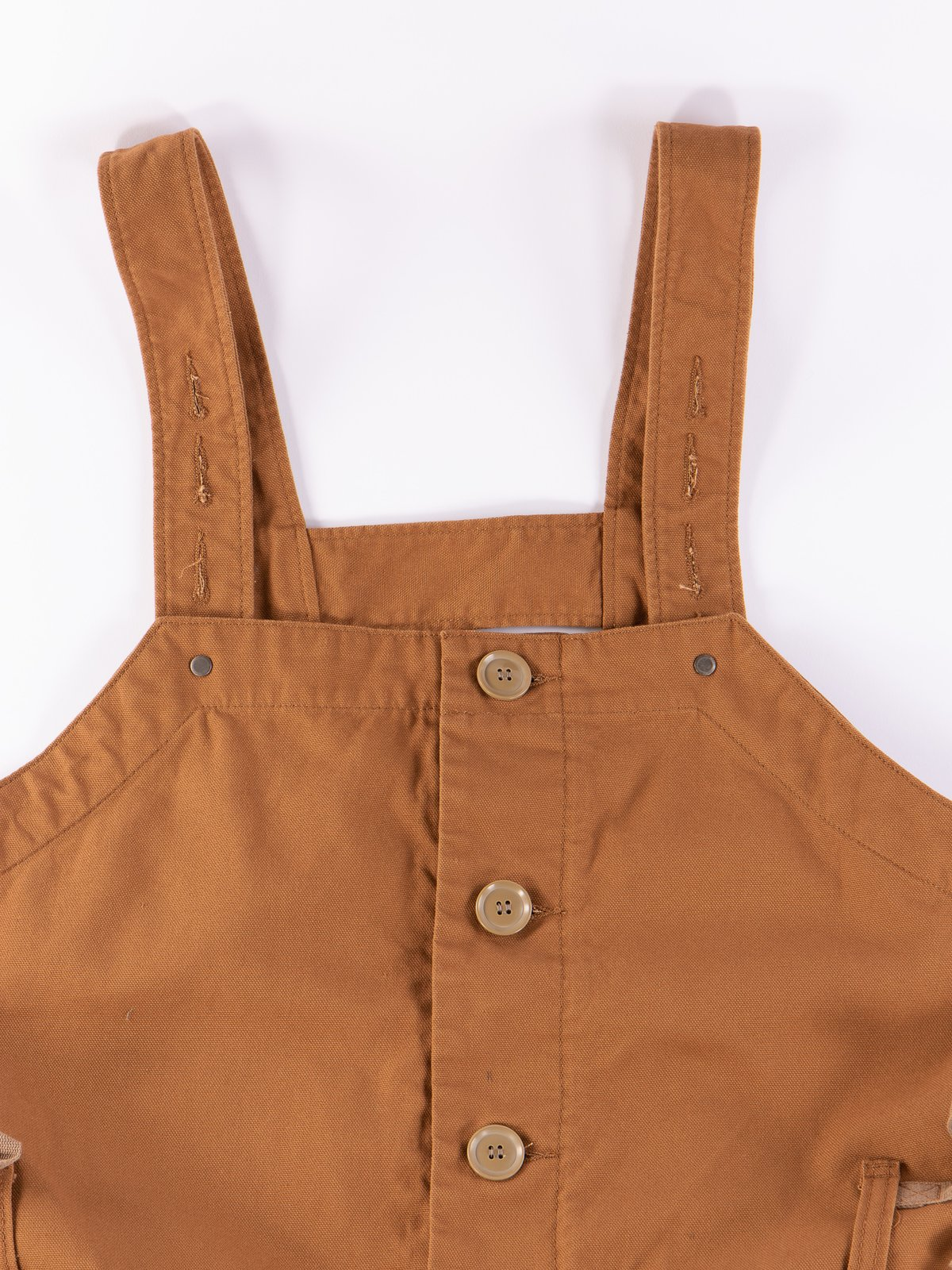 Brown 12oz Duck Canvas Waders - Image 5