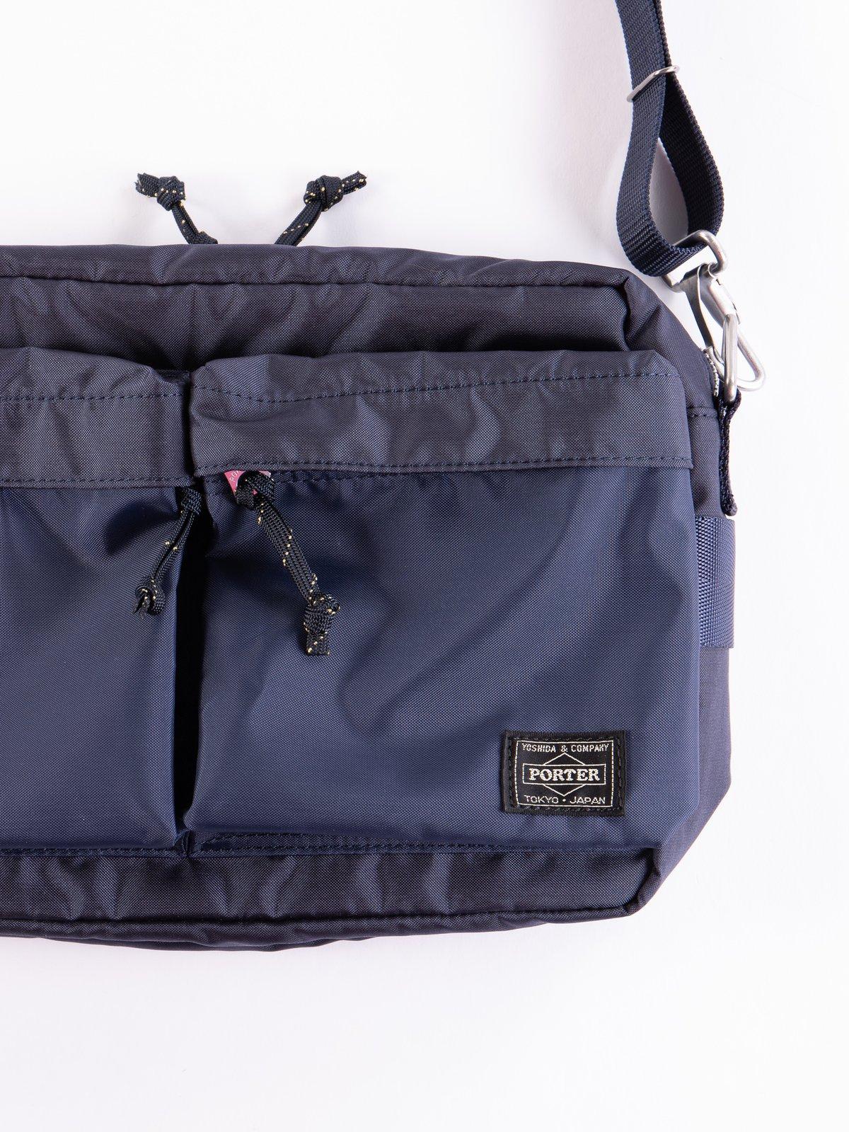 Navy Force Small Shoulder Bag - Image 2
