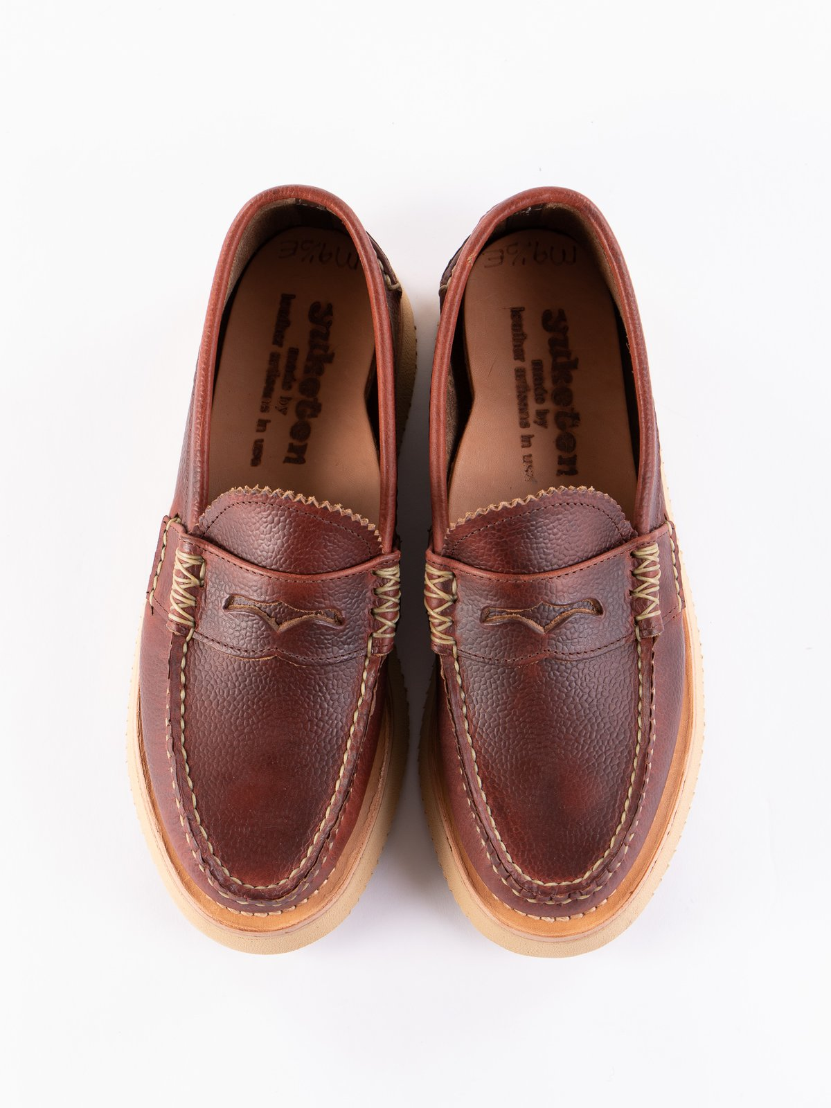 SG Tan Loafer Shoe Exclusive - Image 6