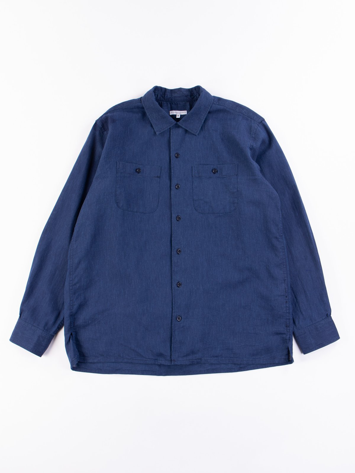 Navy CL Solid Classic Shirt - Image 1