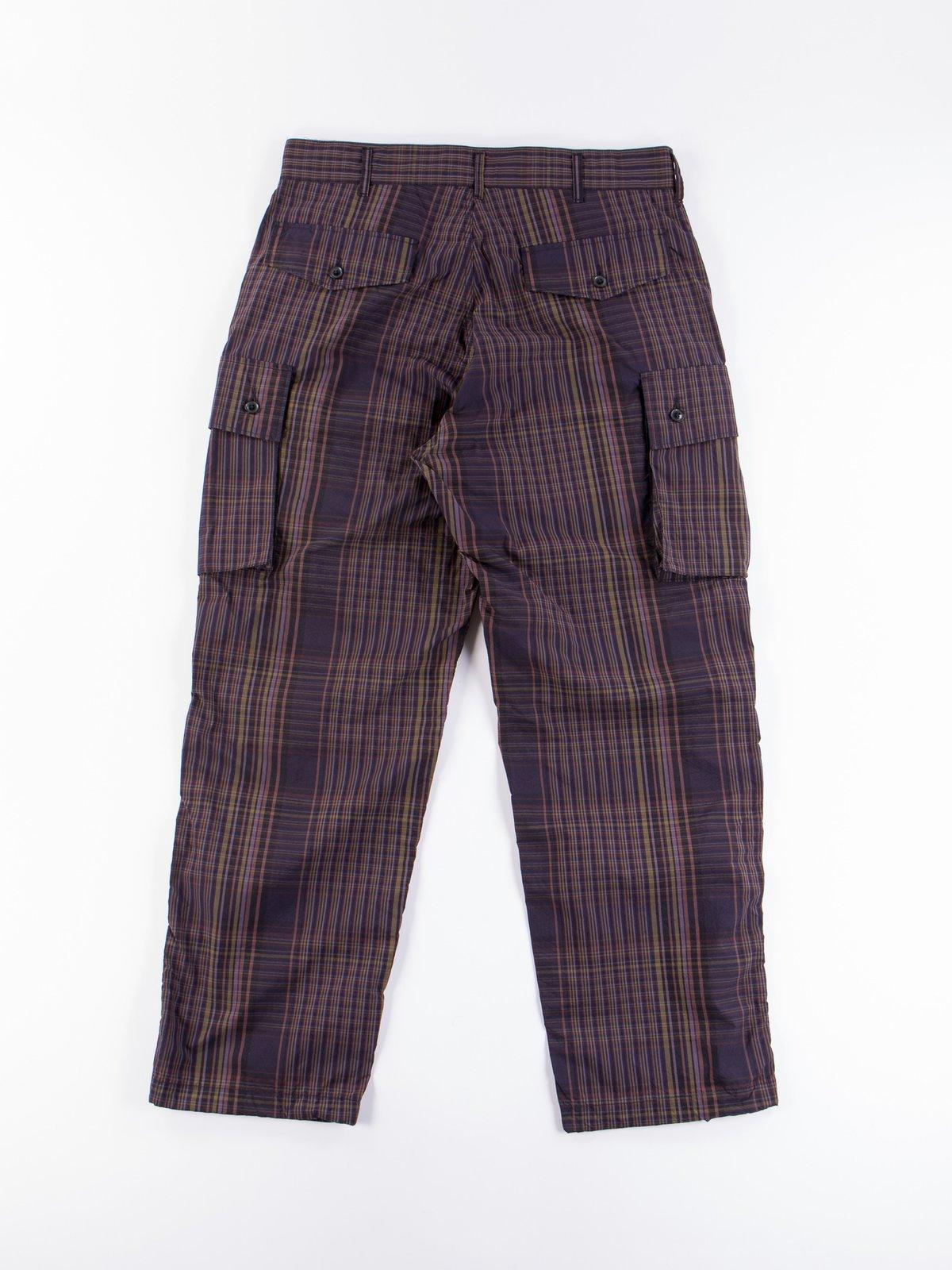 Multi Color Nyco Plaid FA Pant - Image 6