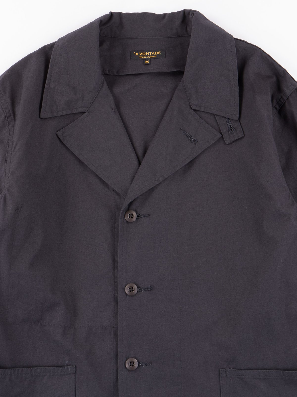 Fade Black Utility Coverall Jacket - Image 2