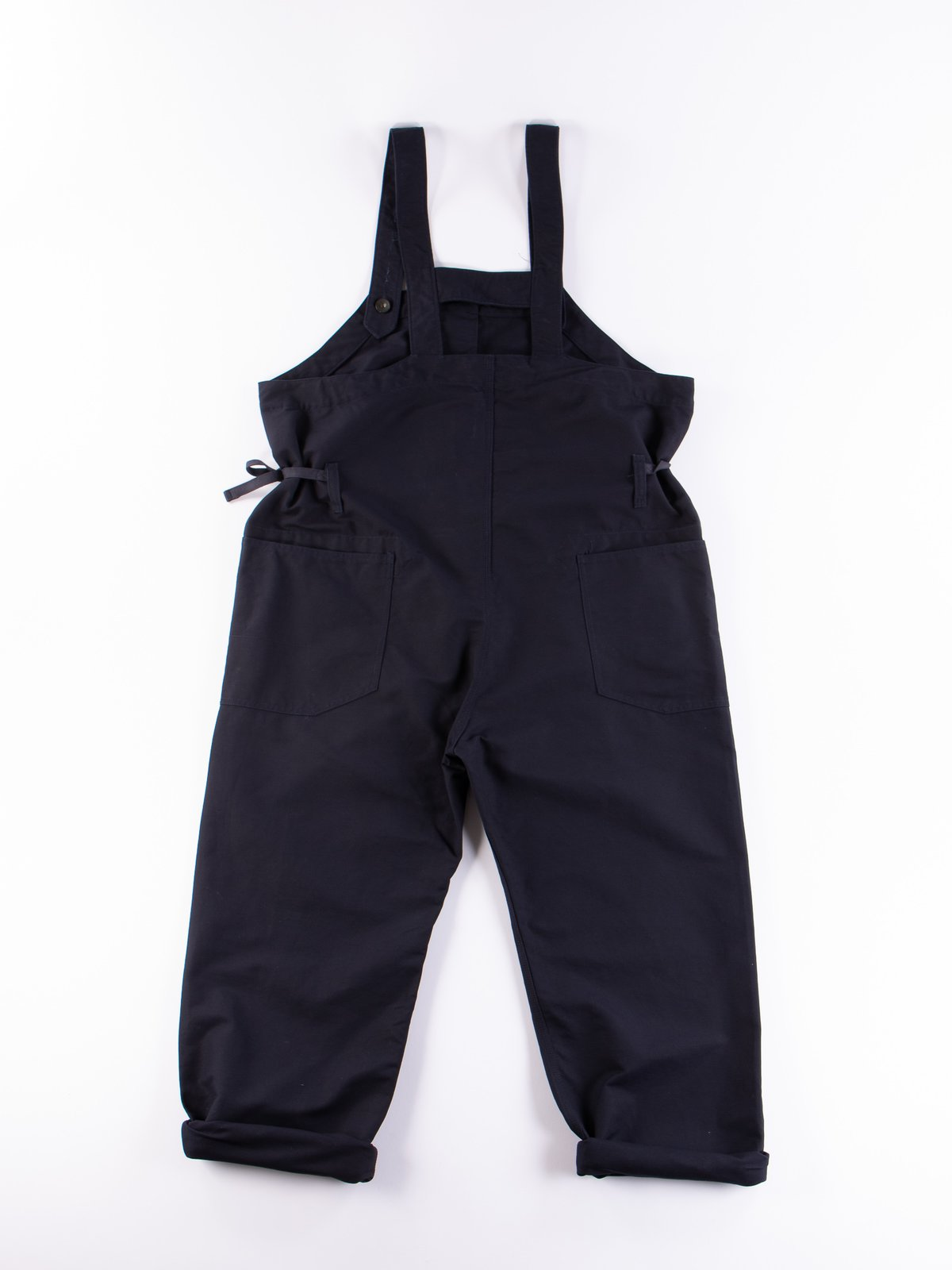 Navy Cotton Double Cloth Waders - Image 6