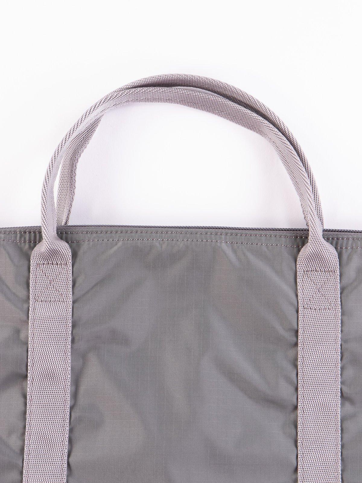 Grey Flex 2Way Tote Bag - Image 3