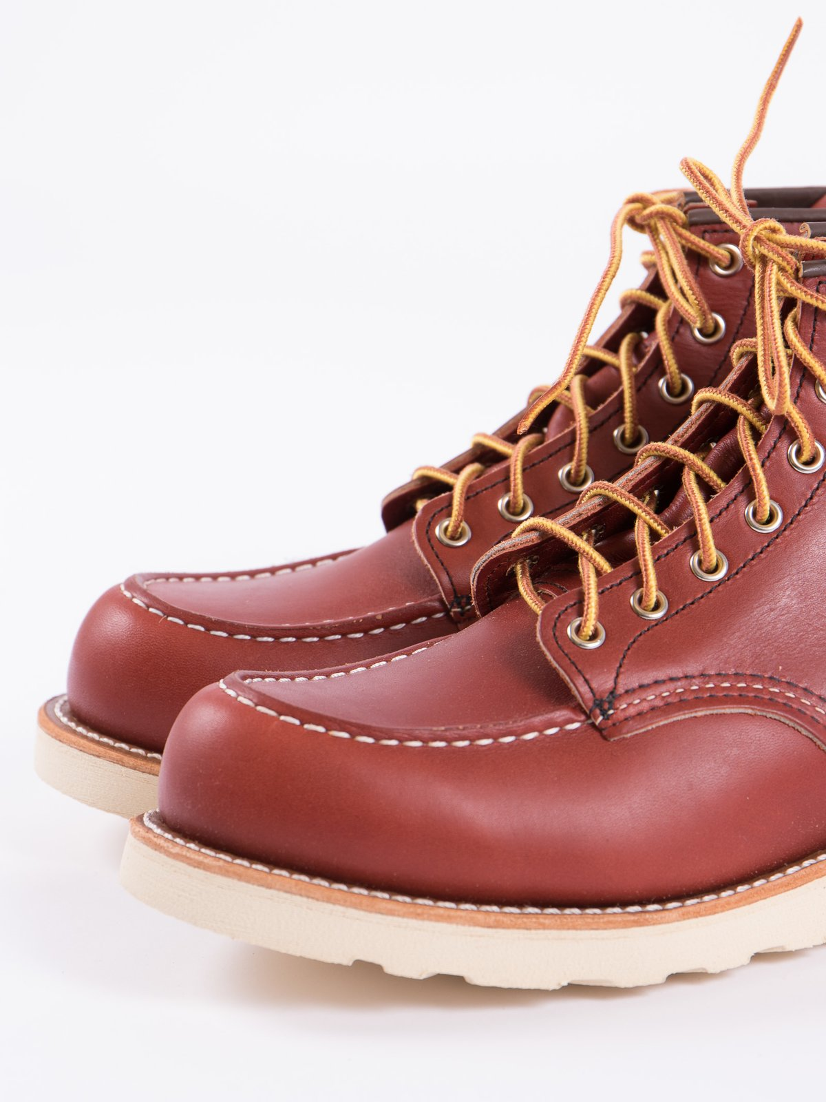 "ORO RUSSET PORTAGE 8131 HERITAGE 6"" MOC TOE BOOT - Image 2"