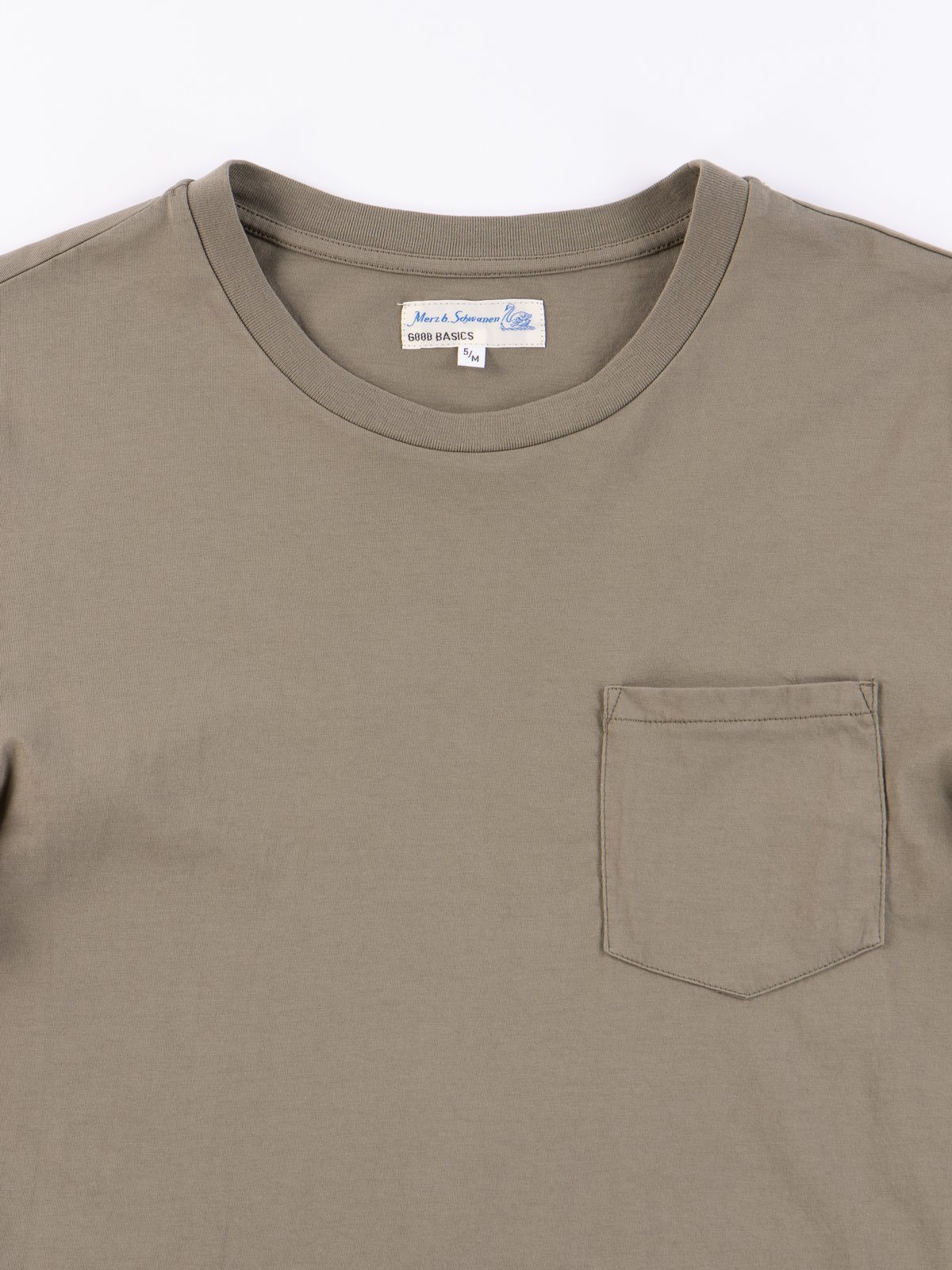Army Good Basics CTP01 Pocket Crew Neck Tee - Image 3