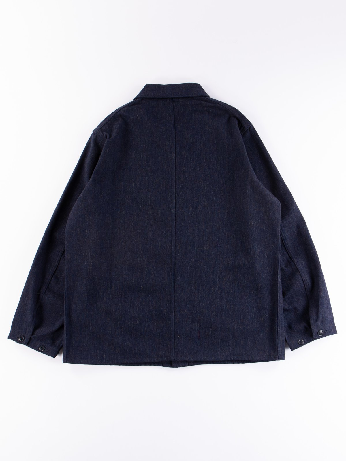 Navy Wool/Cotton Serge D.N Coverall - Image 4