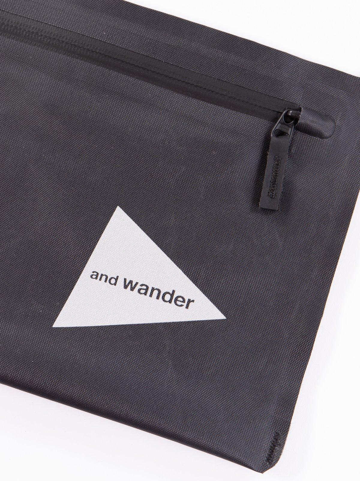 Black Waterproof Sacoche Bag - Image 2