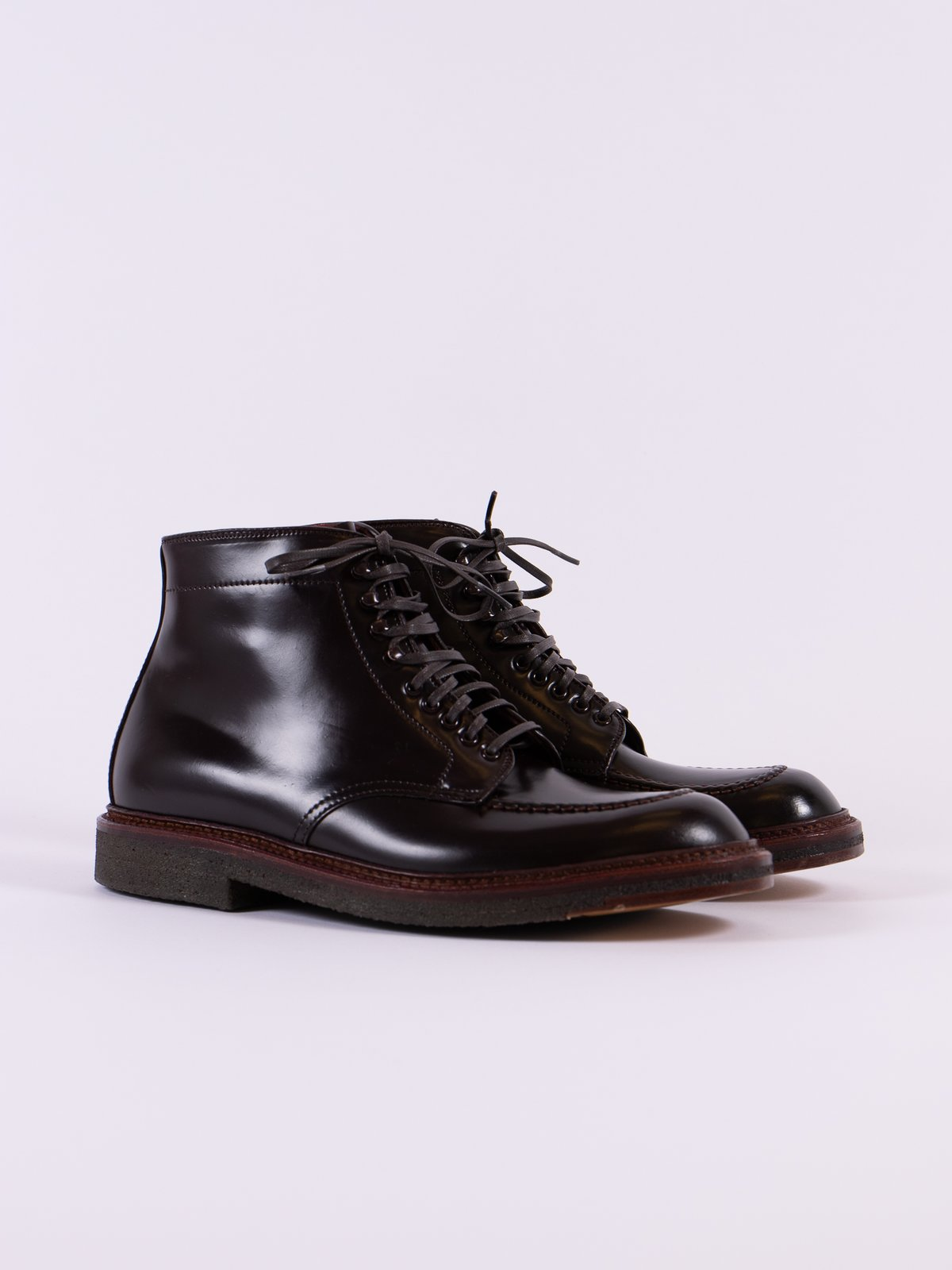 Color 8 Cordovan Indy Boot - Image 1
