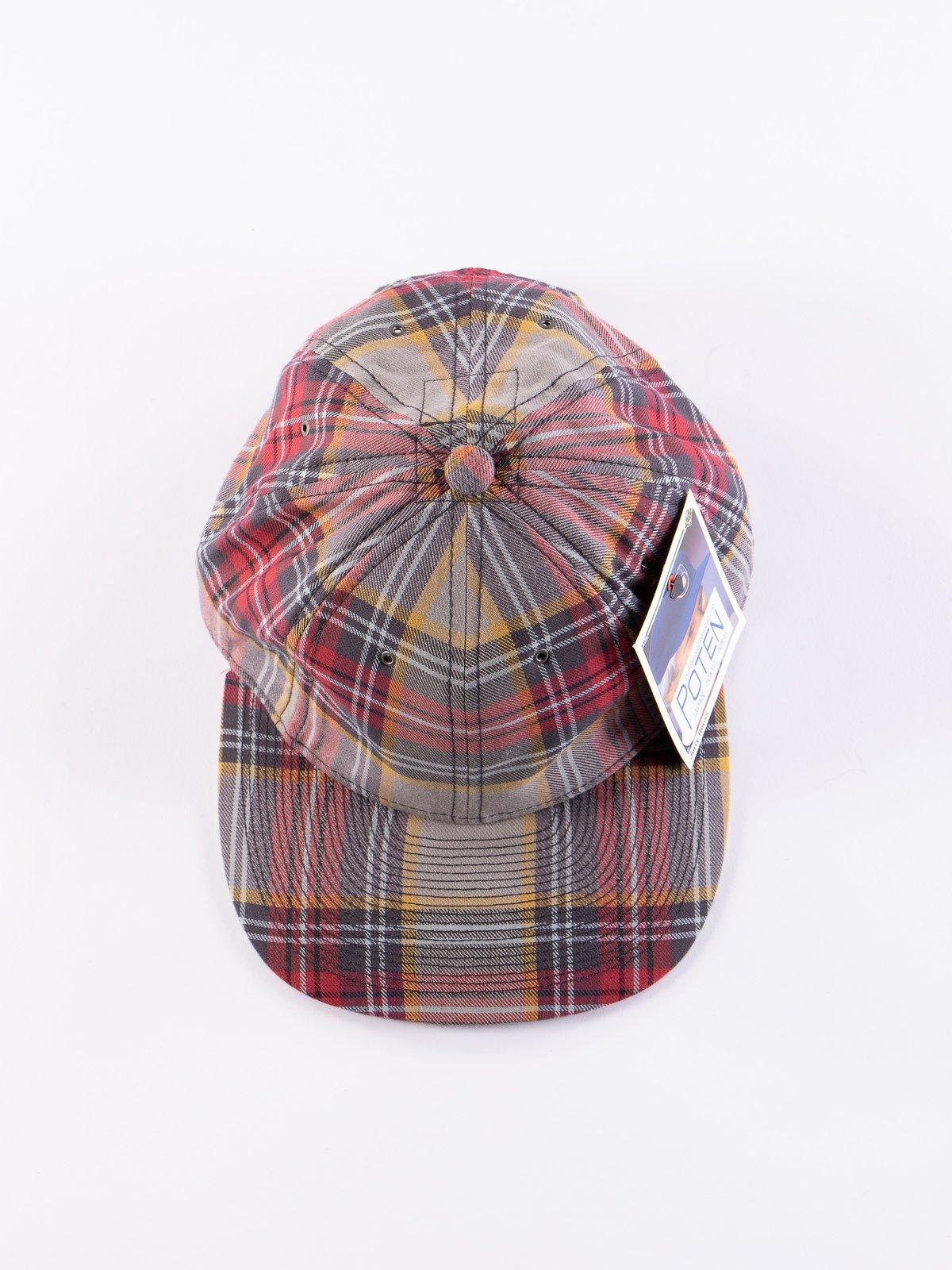 Grey Japanese Flannel Cap - Image 3