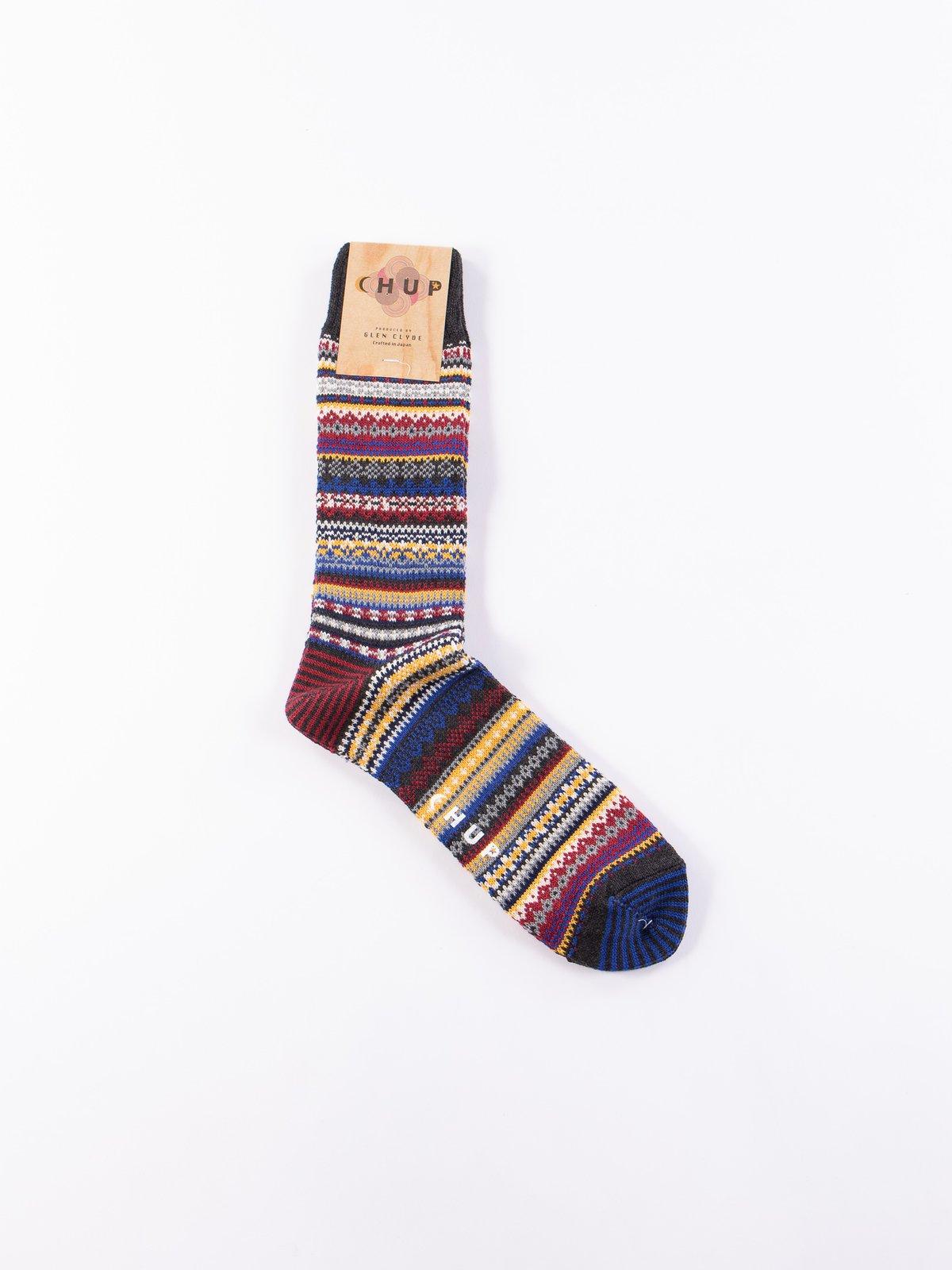Charcoal Yo Socks - Image 1