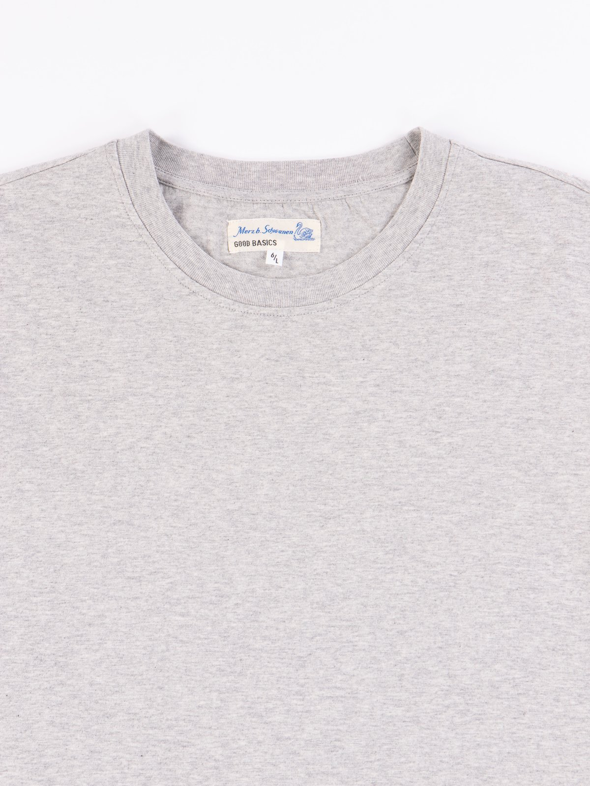 Grey Melange Good Basics CTOS01 Oversized Crew Neck Tee - Image 3