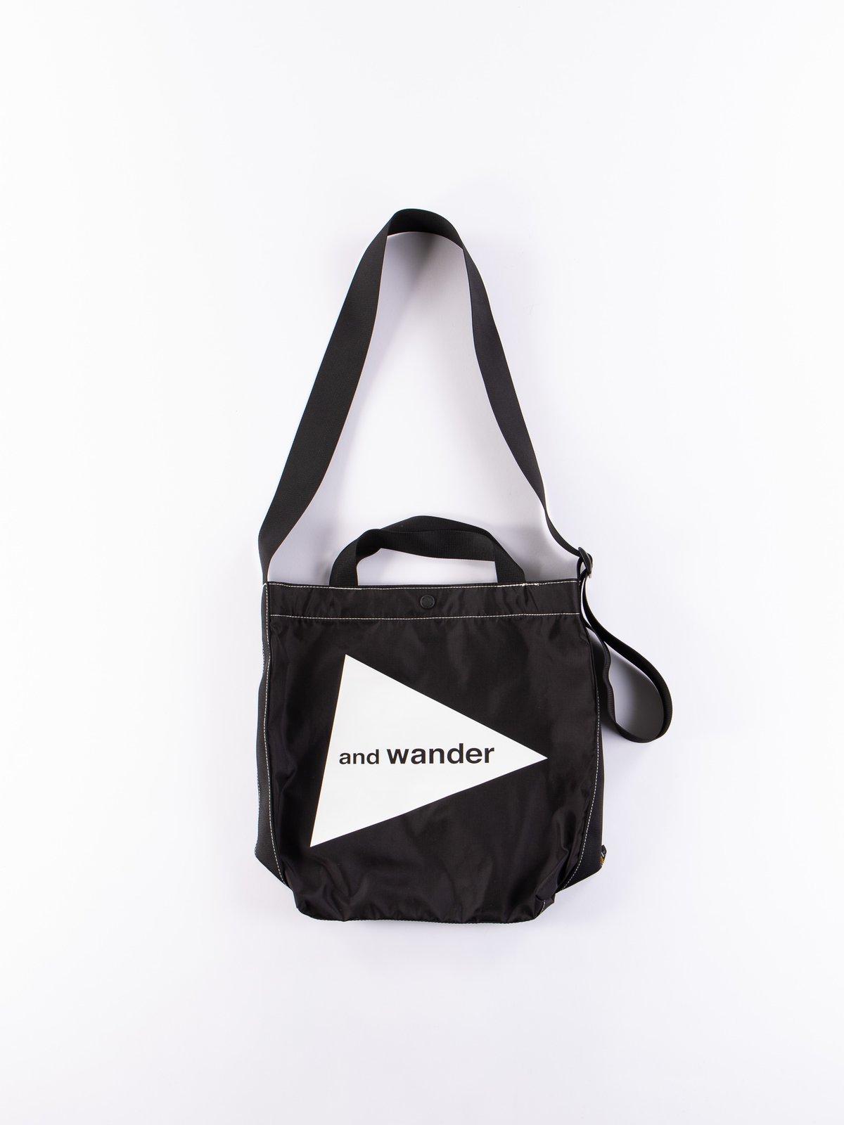 Black Small Logo Tote Bag - Image 1