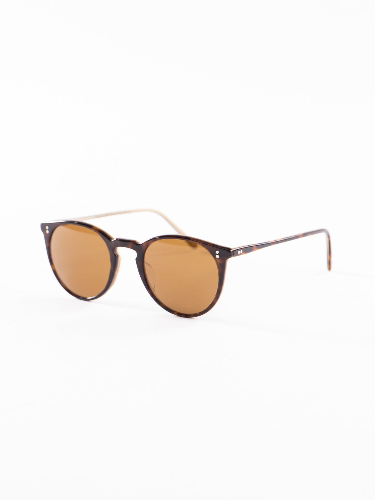 362–Horn/Brown O'Malley Sunglasses - Image 2