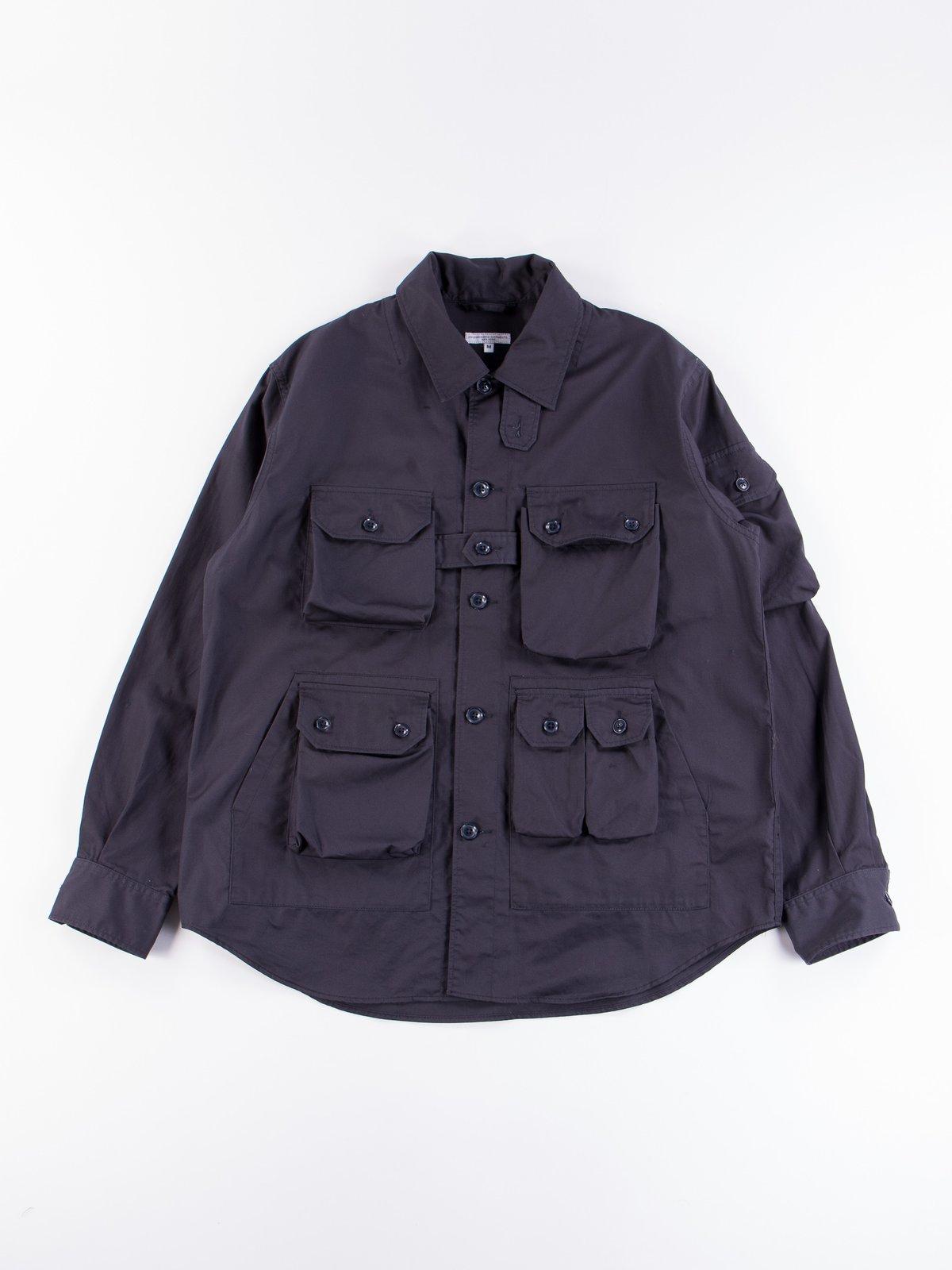 Dark Navy Highcount Twill Explorer Shirt Jacket - Image 1