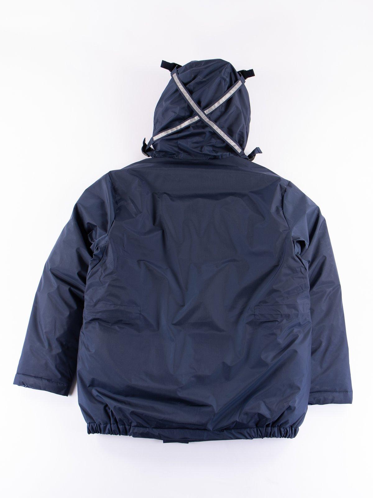 Navy/Blue Arktikal Down Jacket - Image 8