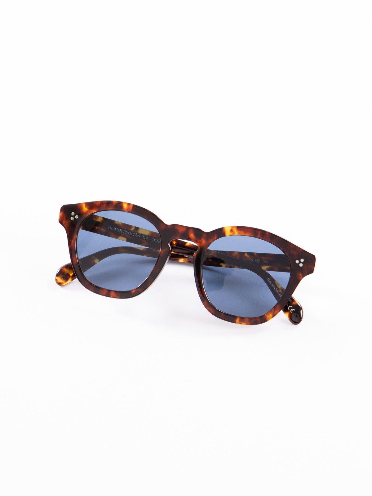 DM2/Dark Blue Boudreau LA Sunglasses - Image 1