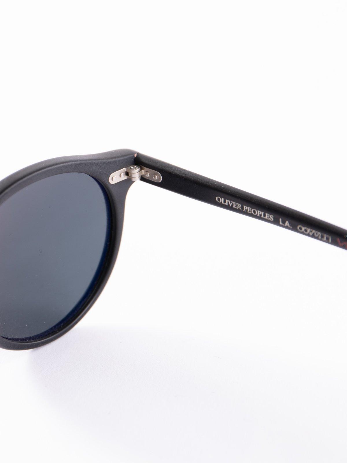 Semi–Matte Black/Dark Grey Polar Gregory Peck Sunglasses - Image 4