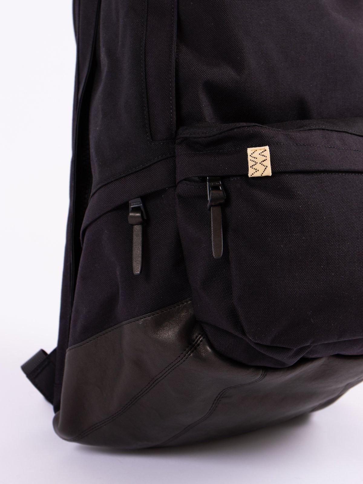 Black Fra Veg Lamb 22L Cordura Backpack - Image 3