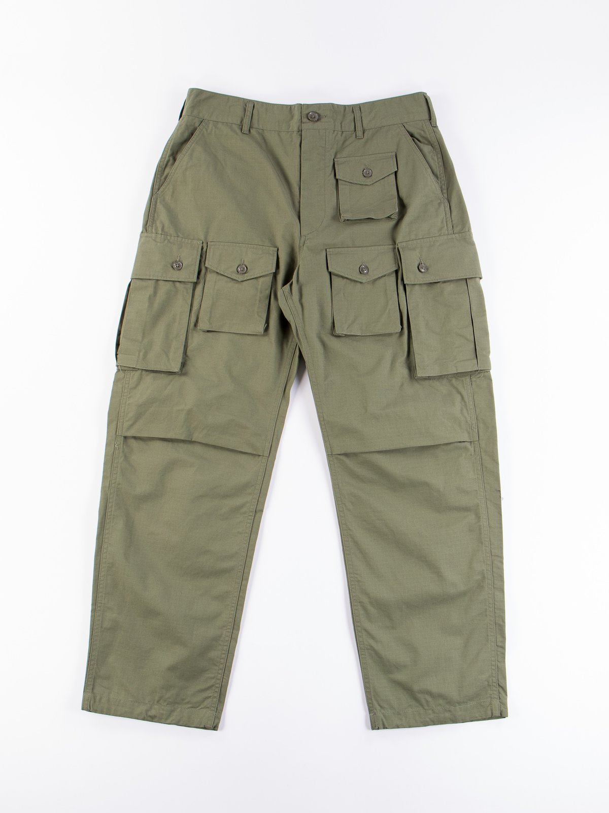 Olive Cotton Ripstop FA Pant - Image 1
