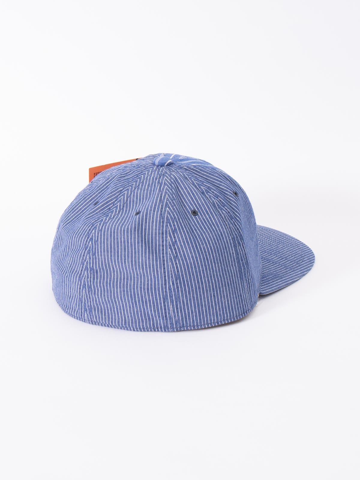 BLUE JAPANESE CHAMBRAY CAP - Image 2