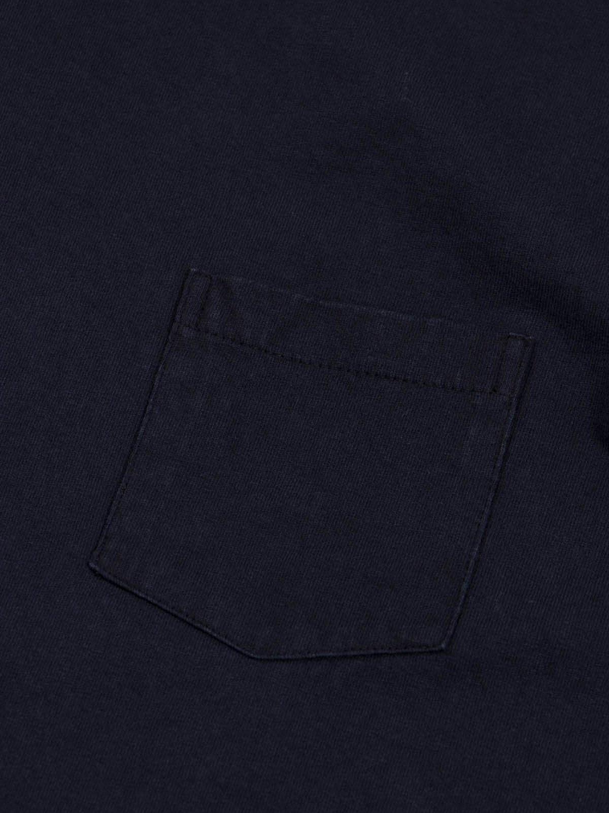 Black Indigo 1–Pac Pocket Tee - Image 5