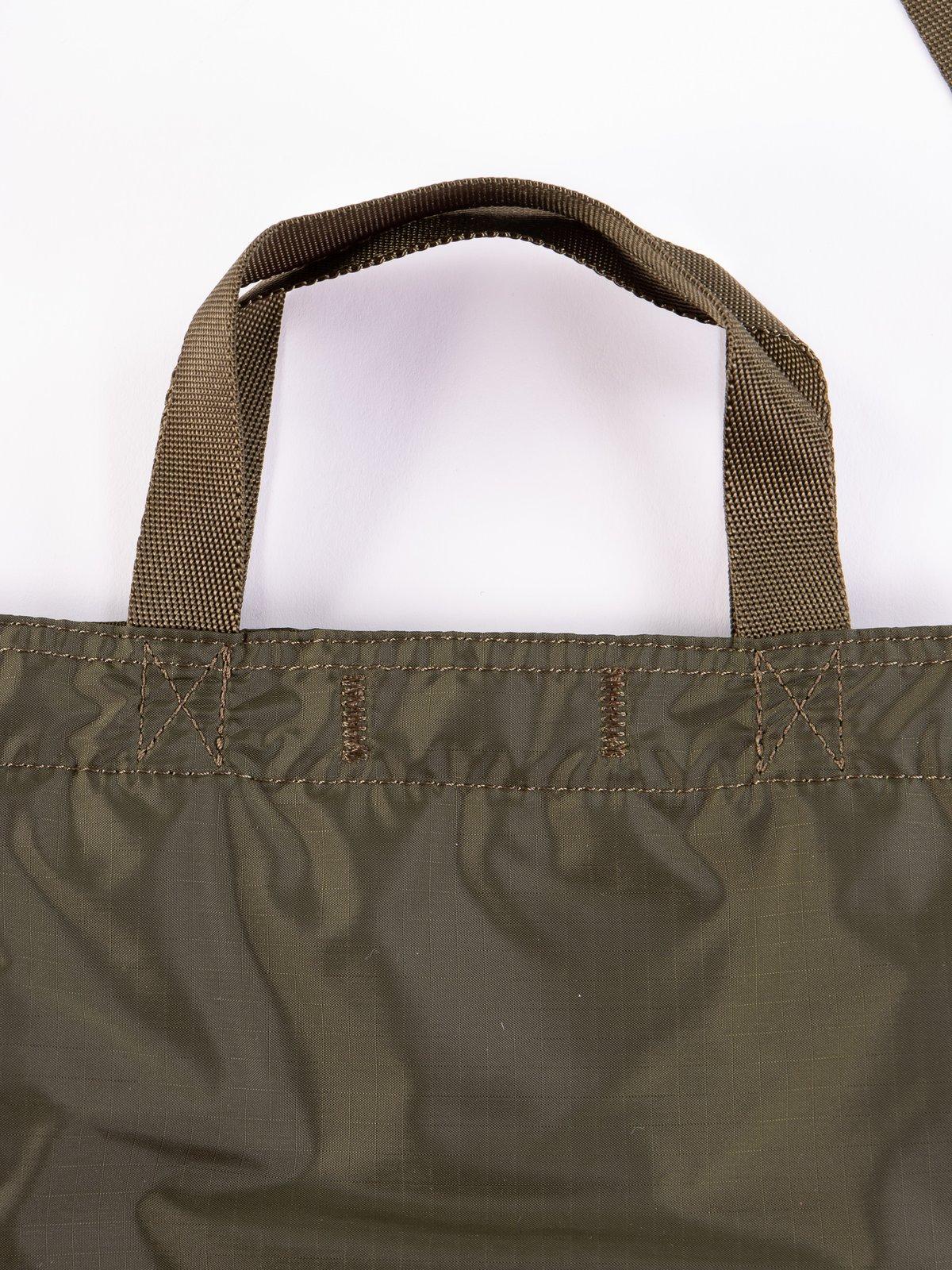Olive Drab Flex 2Way Shoulder Bag - Image 3