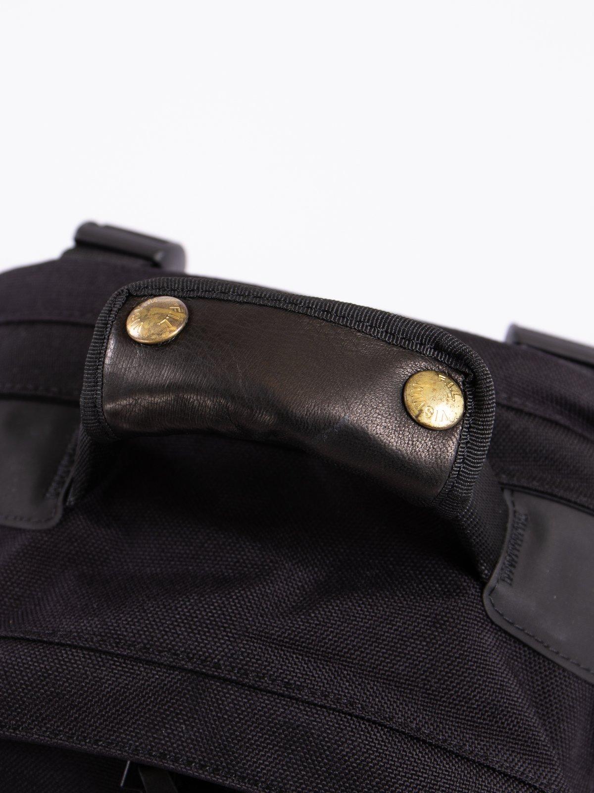 Black Fra Veg Lamb 22L Cordura Backpack - Image 4