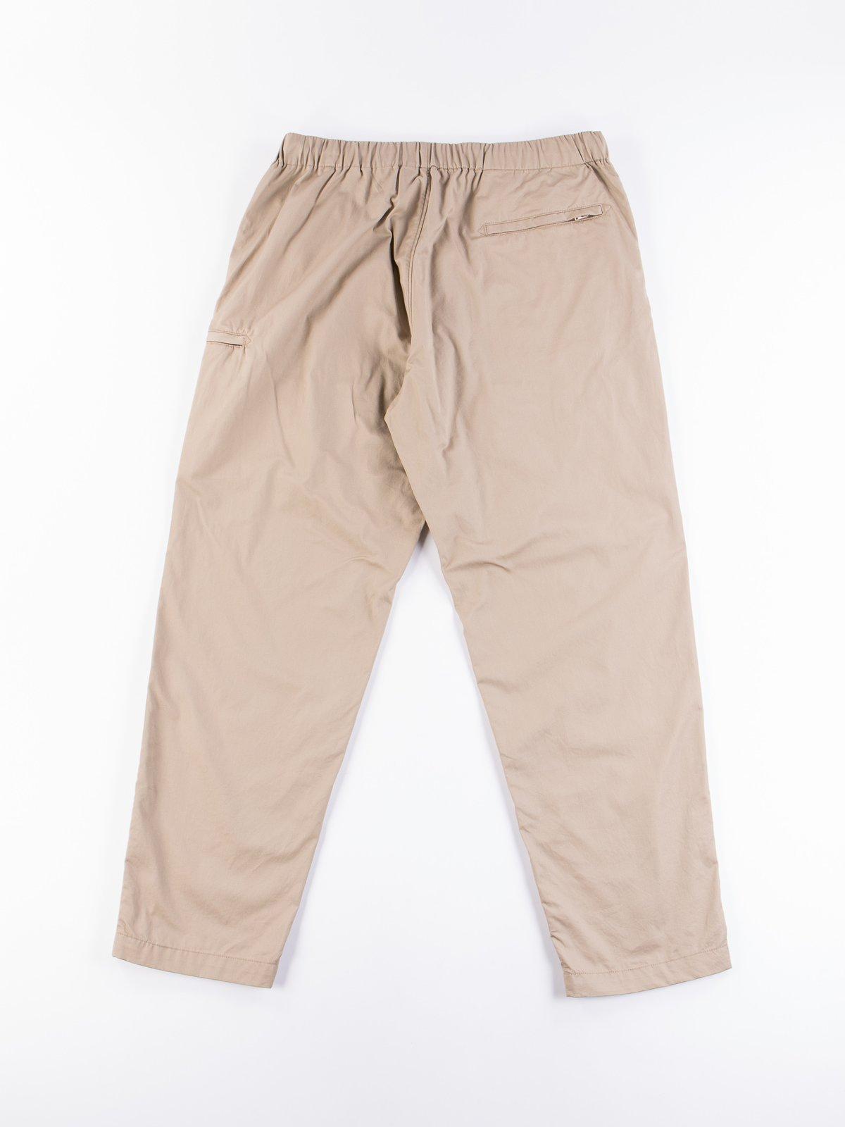 Khaki Highcount Twill Drawstring Pant - Image 5