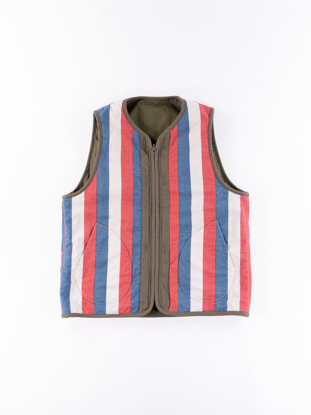 Olive Iris Cotton Liner Vest - Image 6