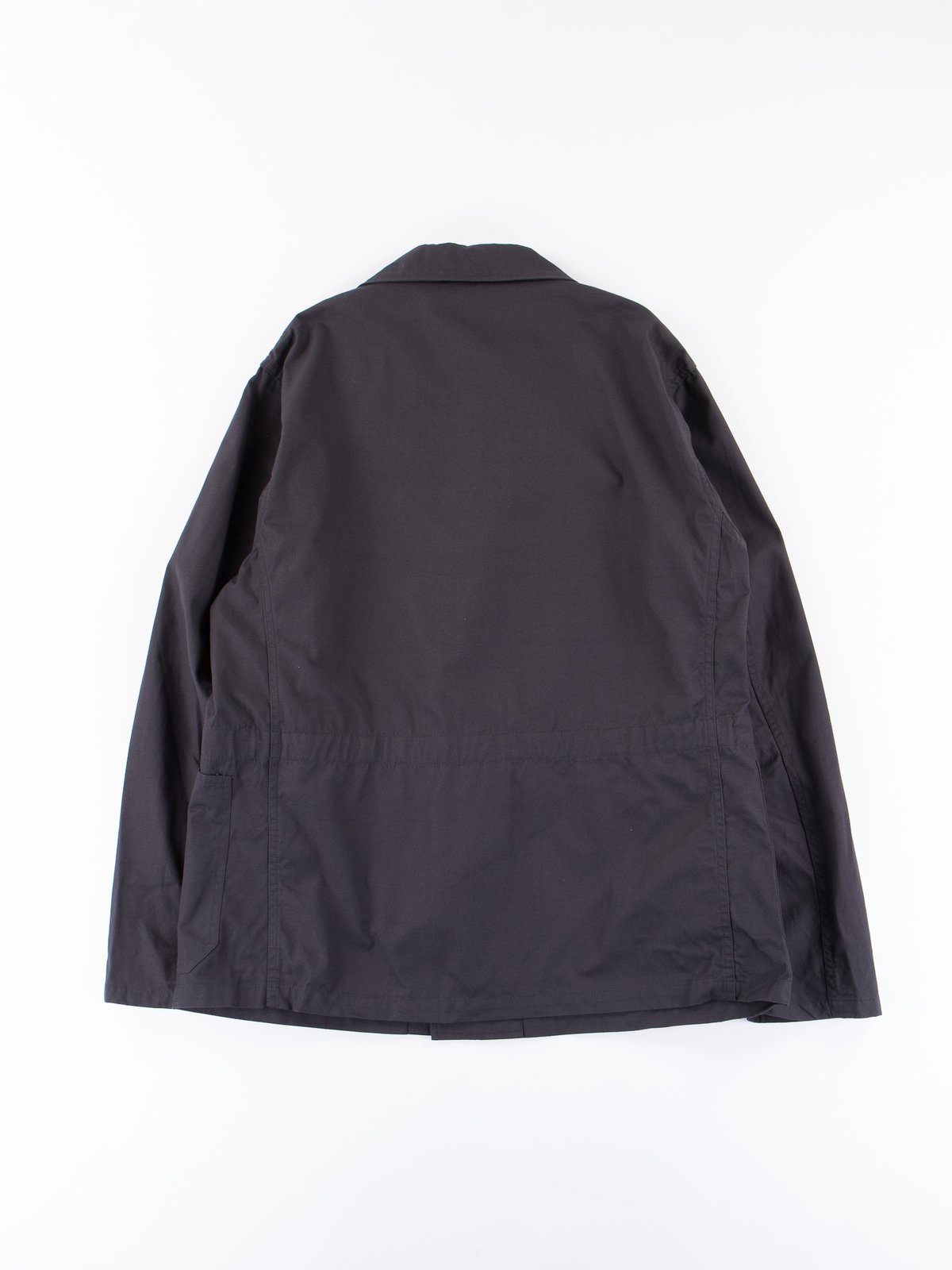 Fade Black Utility Coverall Jacket - Image 5