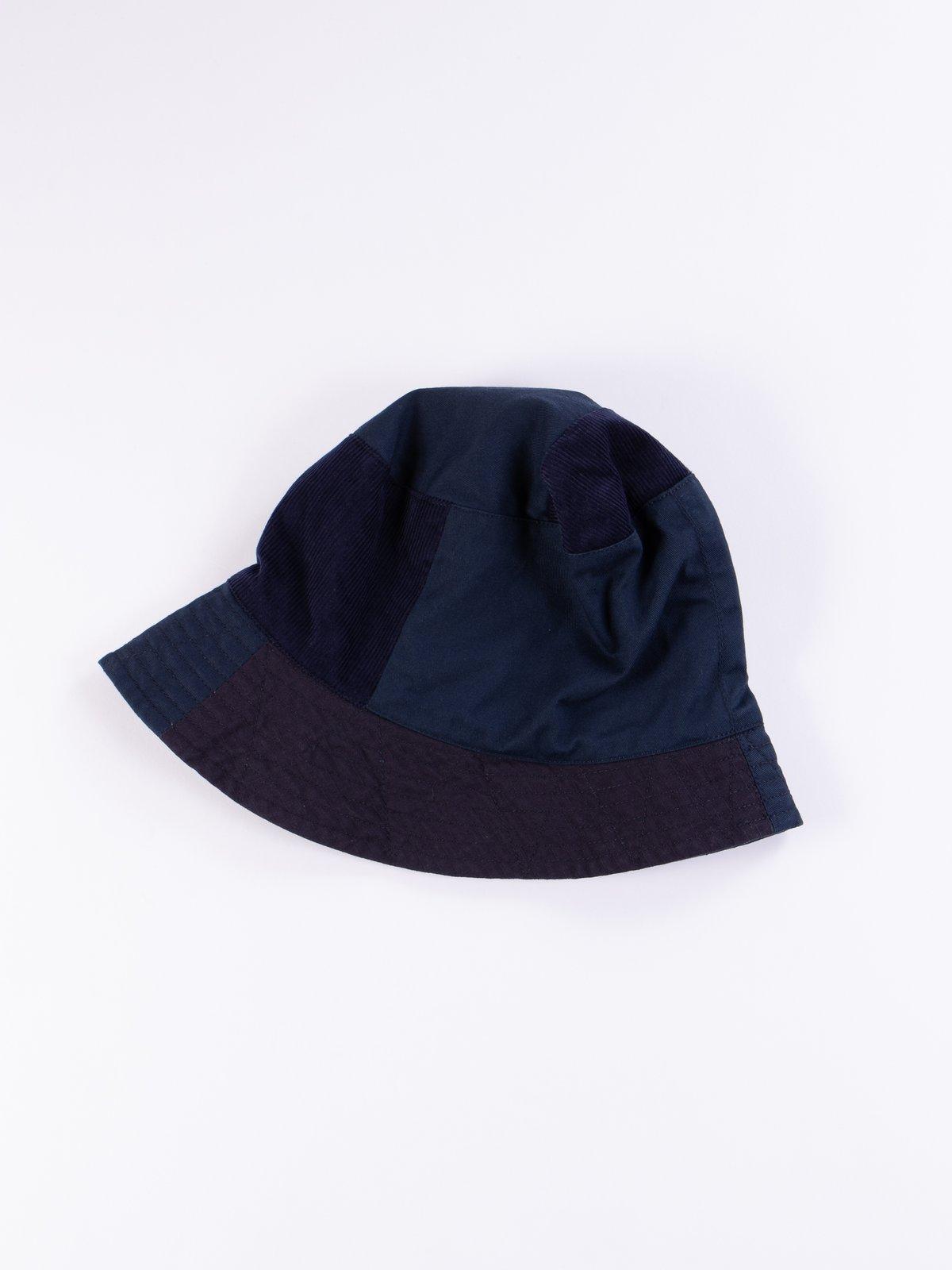 52b9582099b94 Navy 6.5oz Flat Twill Bucket Hat by Engineered Garments – The Bureau ...