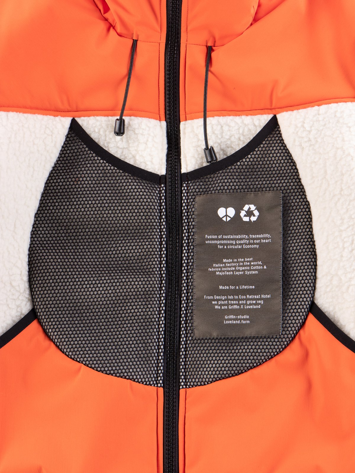 Orange Reversible Hooded Jogger - Image 5