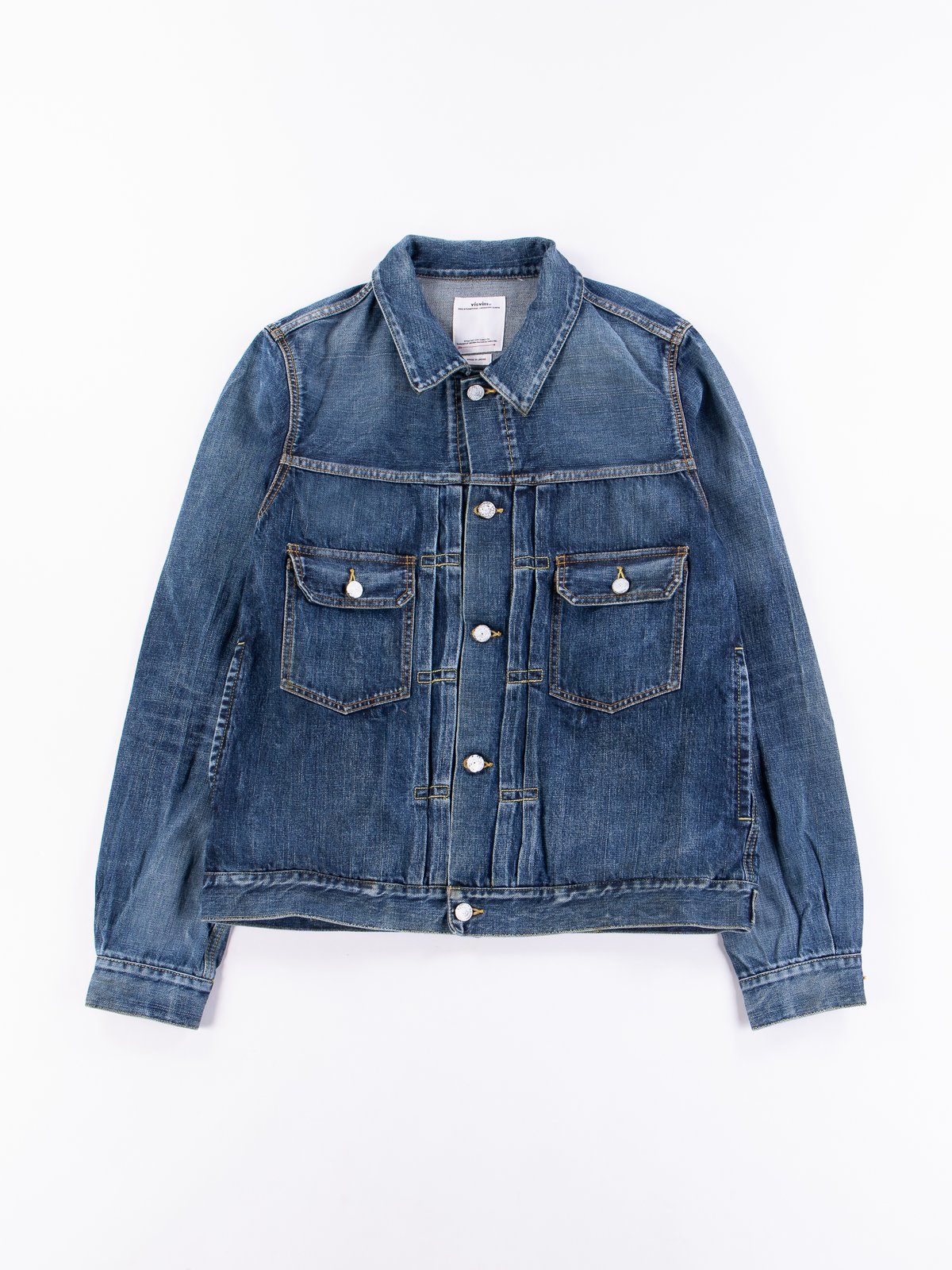 Dry Damaged SS 101 Denim Jacket - Image 1