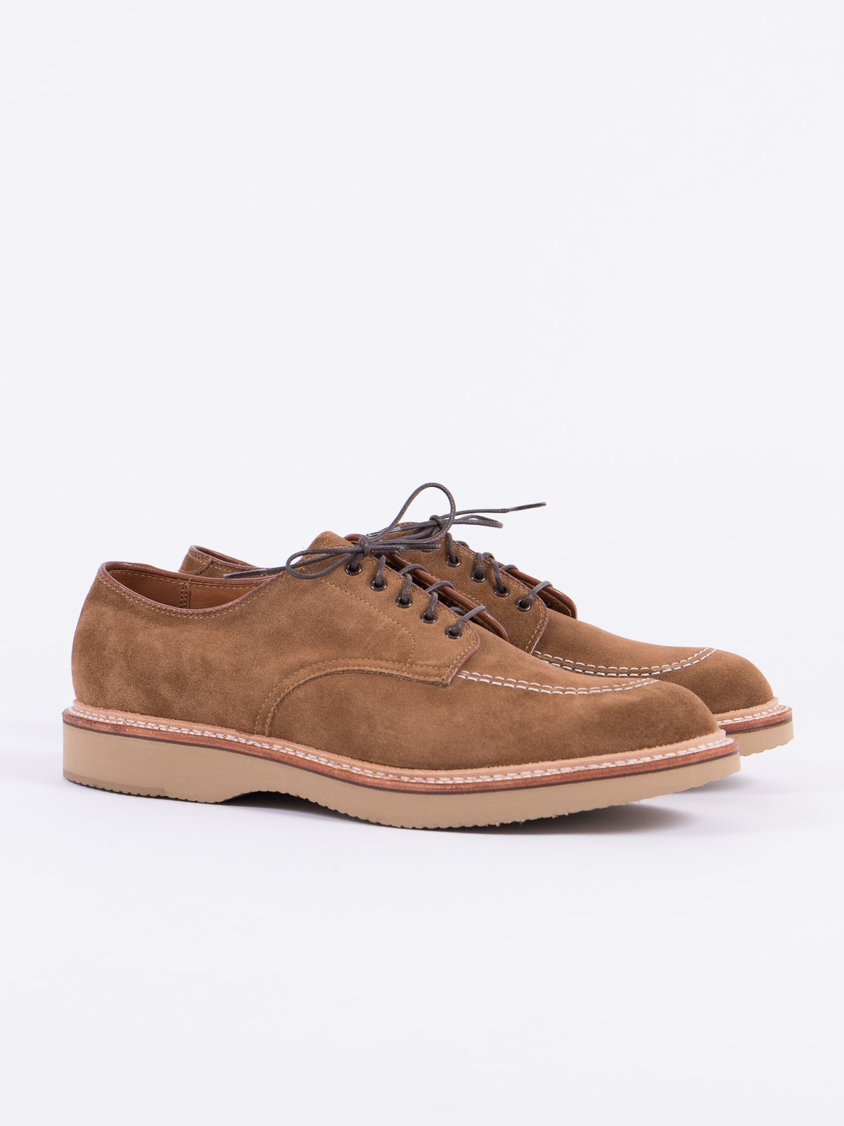 Snuff Suede Indy Work Shoe - Image 1