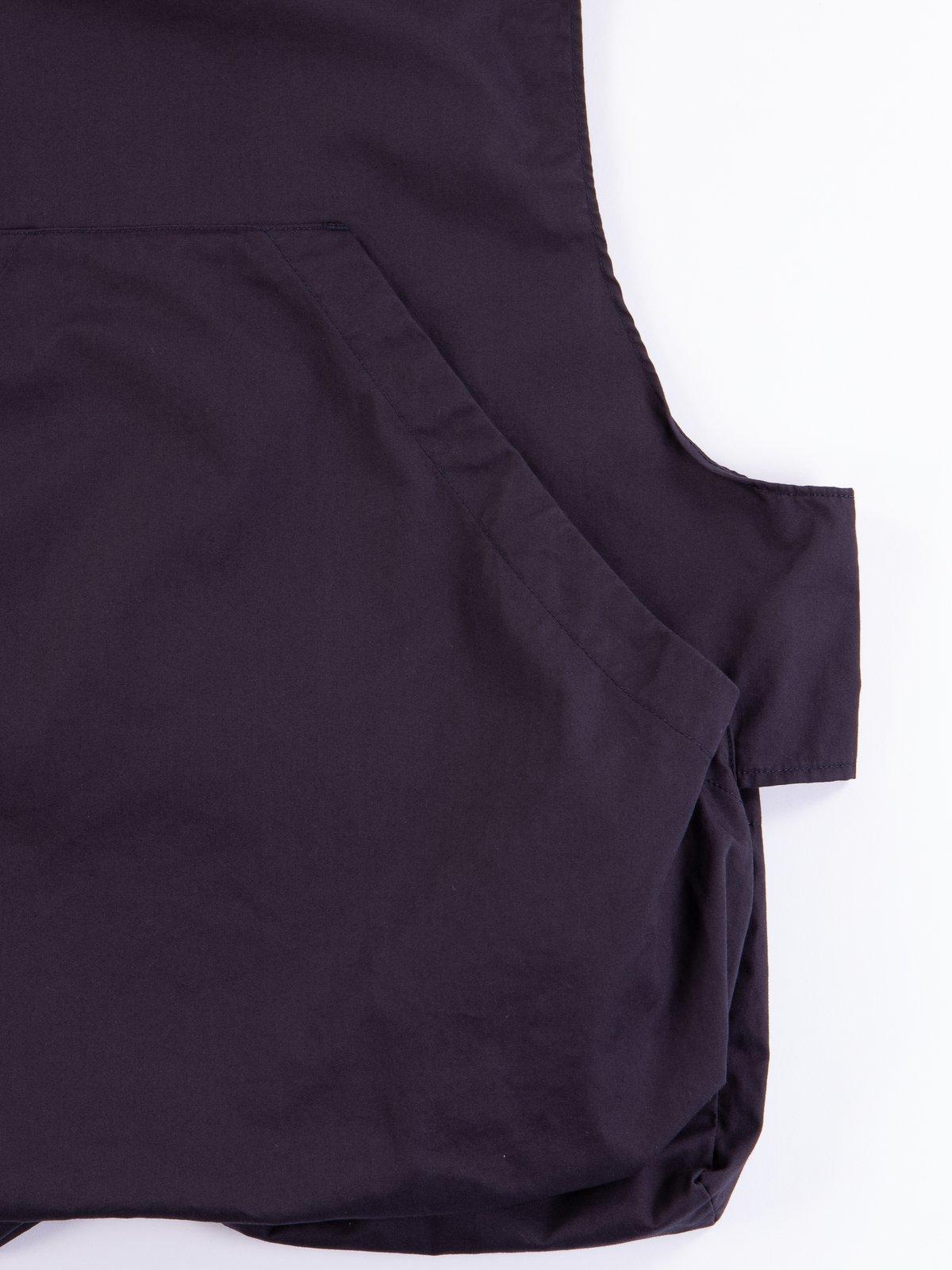 Dark Navy High Count Twill Fowl Vest - Image 5